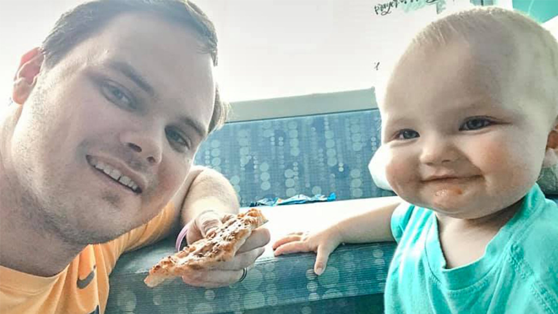 David Green received a generous gift from his colleagues after he ran out of sick days that would allow him to spend time with his daughter Kinsley, who is being treated for leukemia.