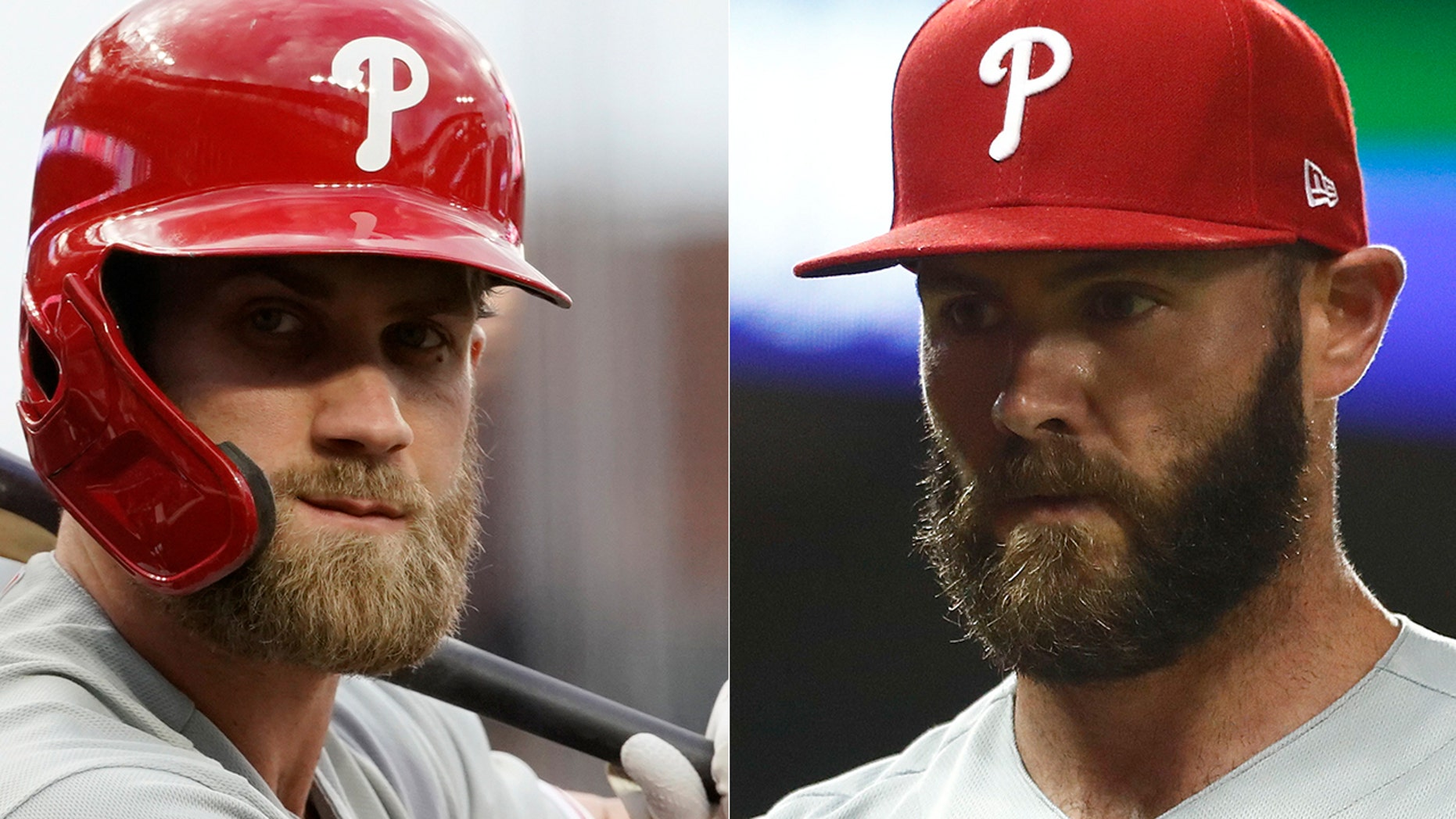 Bryce Harper was ejected from Monday's game to the dismay of Jake Arrieta.