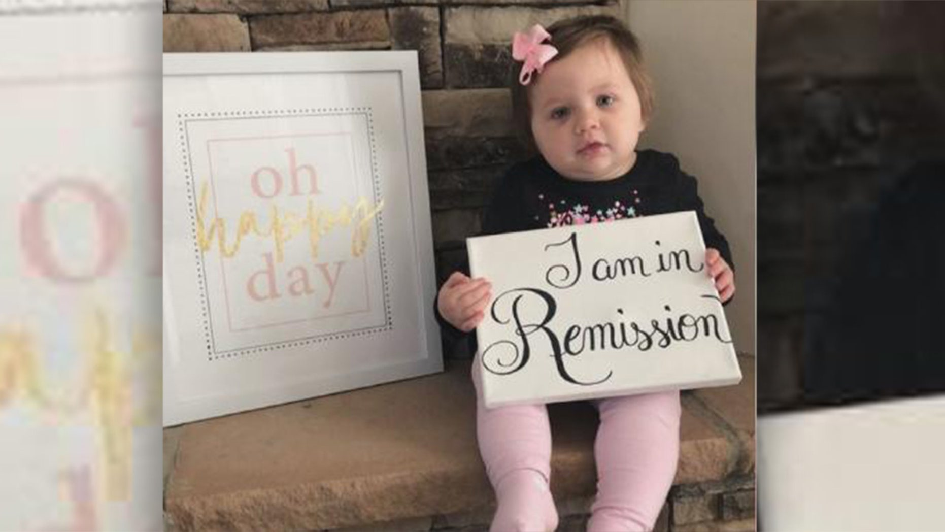 Molly Hughes, 21 months, beats stage-4 cancer