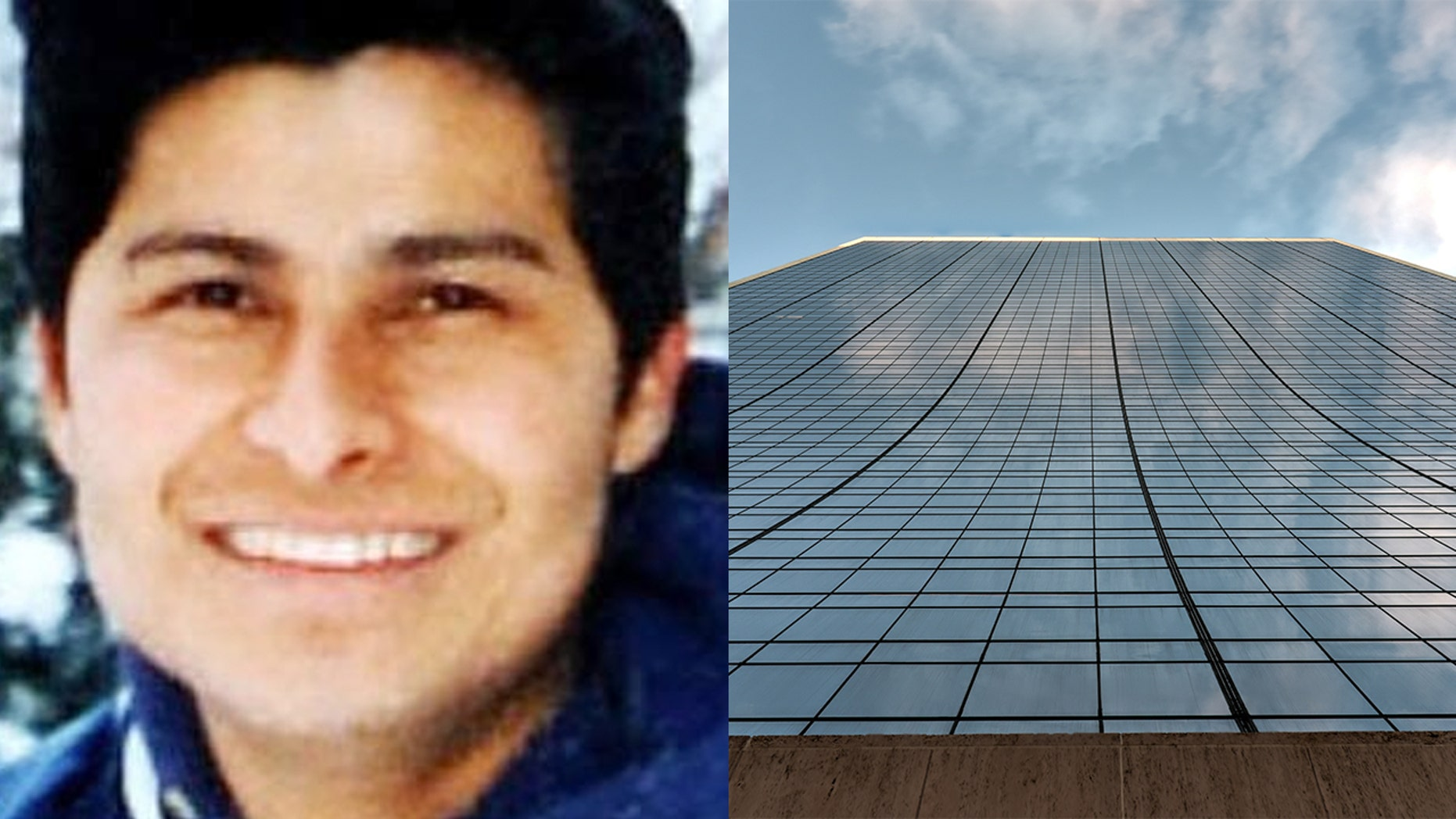 """Alcides Moreno, whom doctors call a """"miracle,"""" survived a 500-foot fall from the Solow Tower building in New York City."""