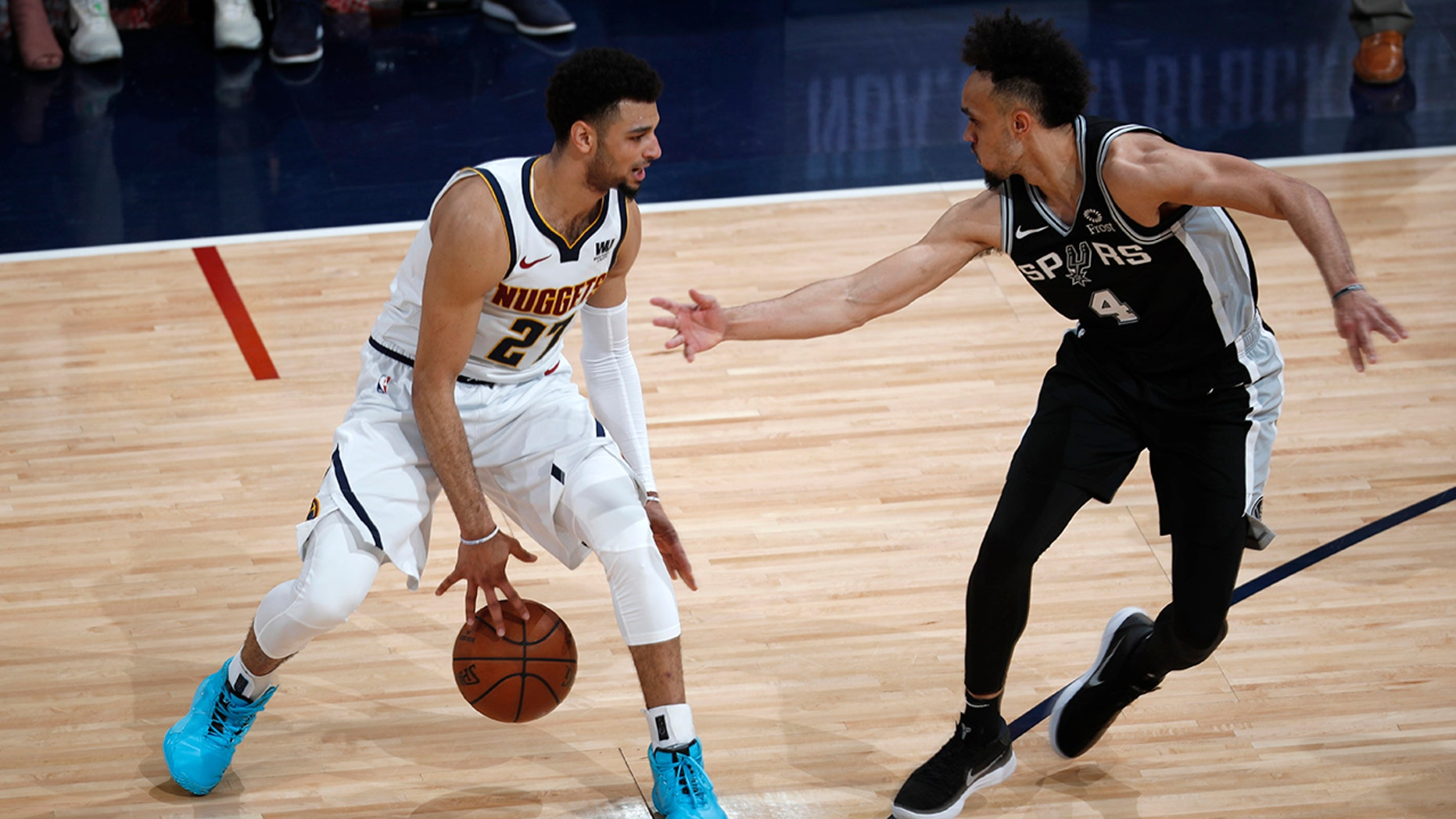Westlake Legal Group NBA-Jamal-Murray Nuggets erase 19-point deficit in 114-105 win over Spurs fox-news/sports/nba/san-antonio-spurs fox-news/sports/nba/denver-nuggets fox-news/sports/nba-playoffs fox-news/sports/nba fnc/sports fnc bd4000cb-0ec7-5666-81f4-17a664e0cefc Associated Press article