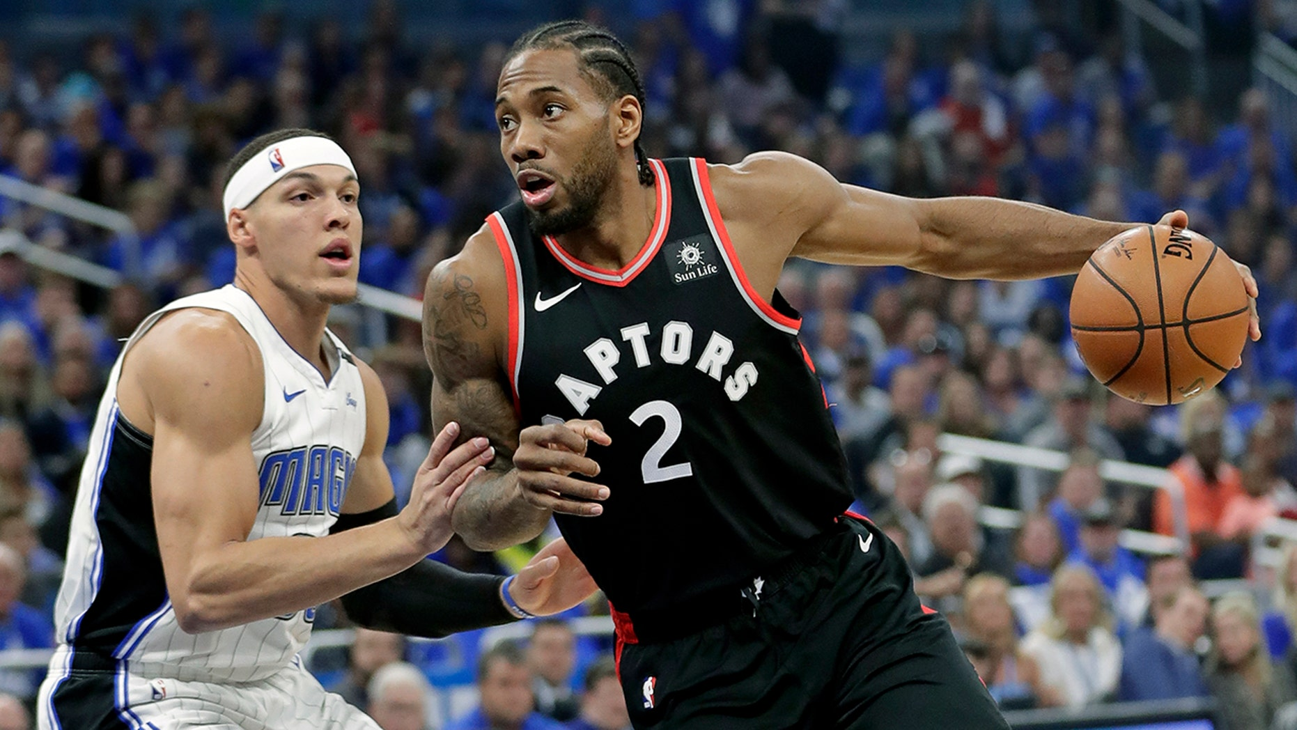 Westlake Legal Group NBA-Kawhi-Leonard3 Leonard scores 34, Raptors top Magic 107-85 for 3-1 lead fox-news/sports/nba/toronto-raptors fox-news/sports/nba/orlando-magic fox-news/sports/nba-playoffs fox-news/sports/nba fnc/sports fnc f34d4f88-d07e-581c-9987-9a344de8e41a Associated Press article