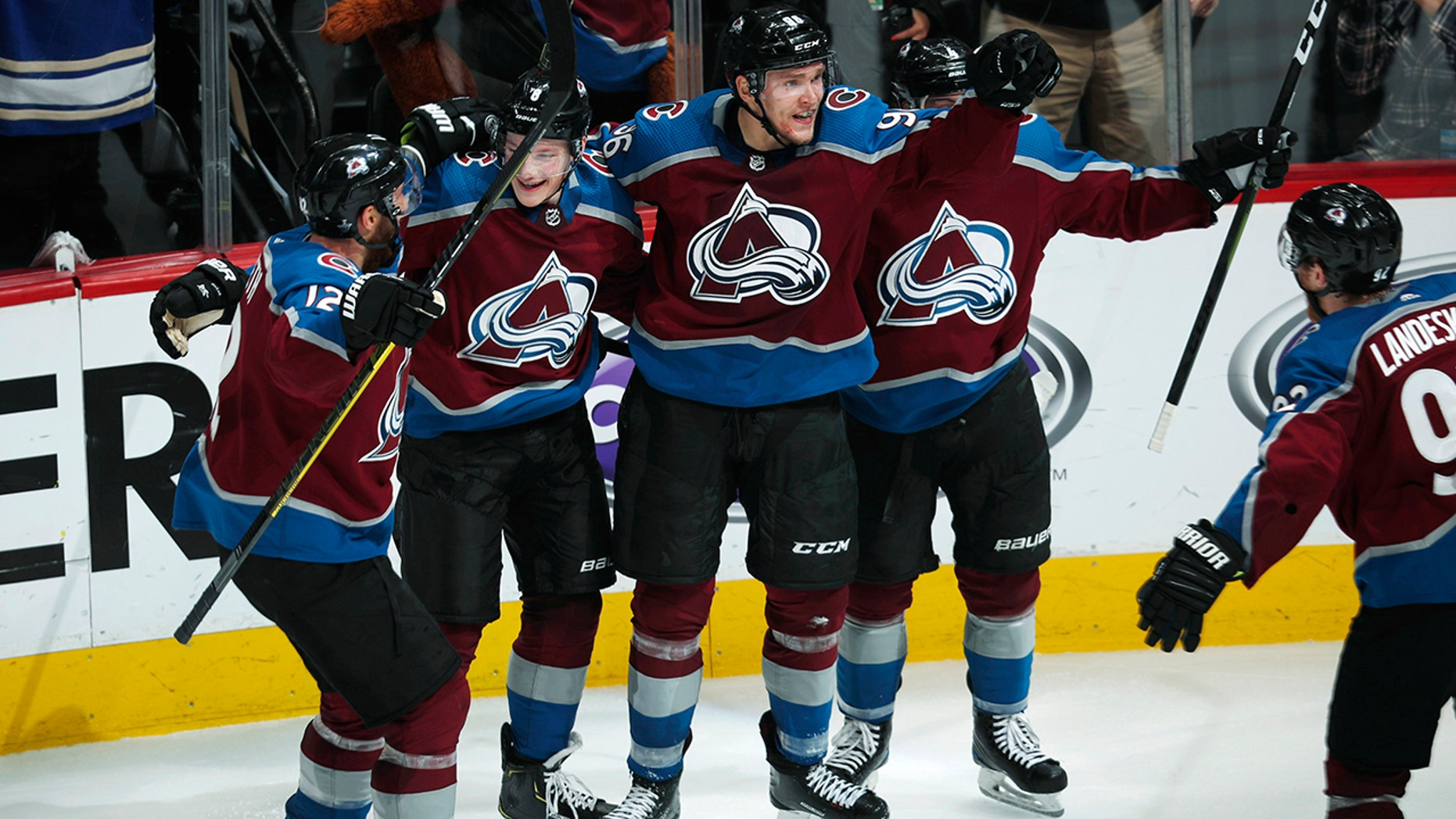 Avalanche finish off Flames