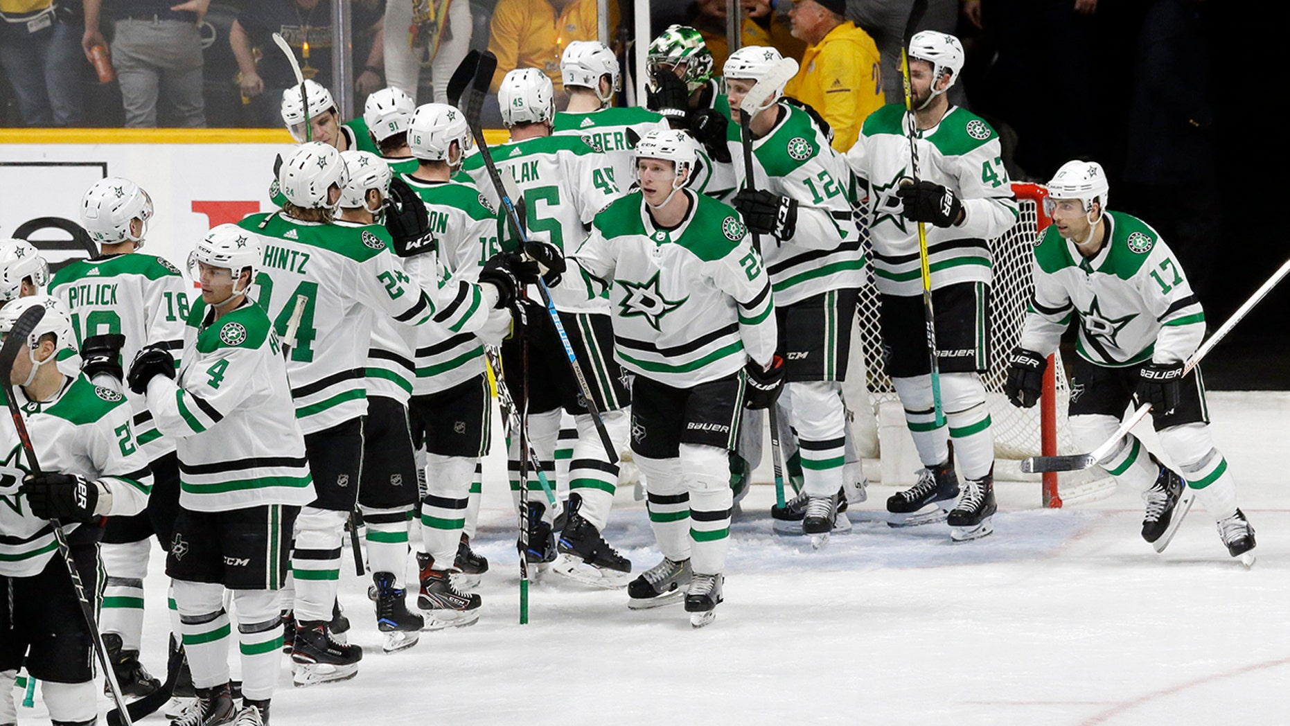 Image result for stars beat predators