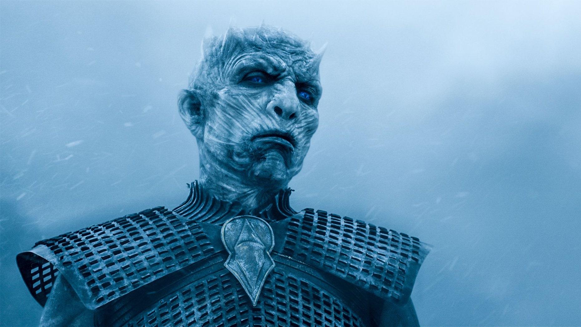"""Vladimir Furdik as the Night King on HBO's hit series """"Game of Thrones."""""""