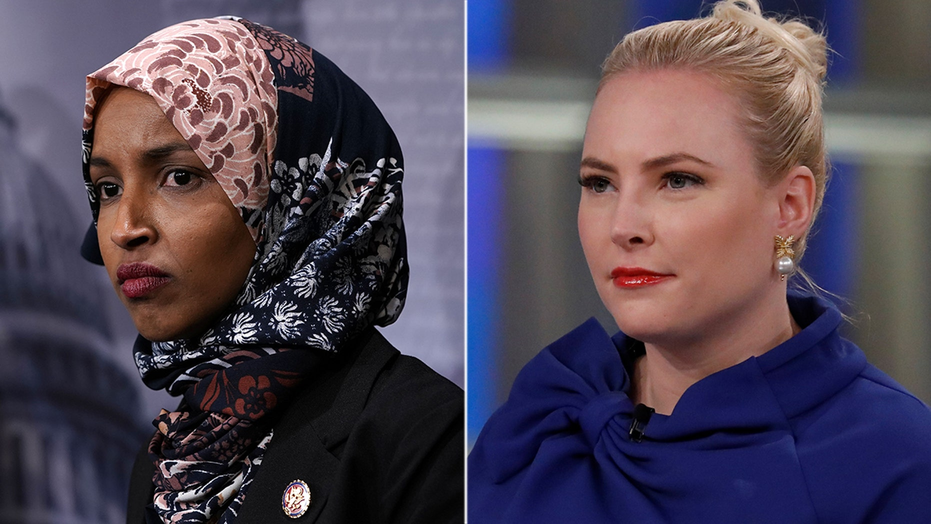 Rep. Ilhan Omar, D-Minn., Appeared to Meghan McCain after