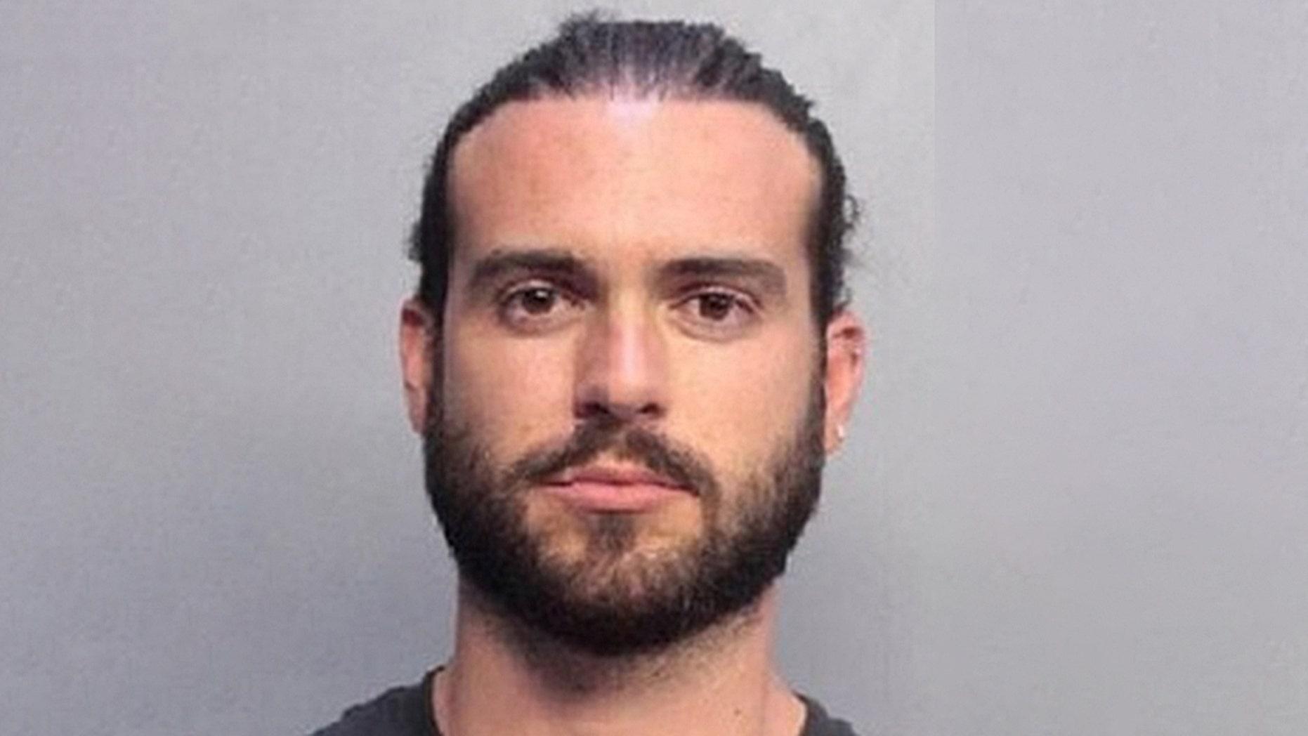 "Pablo Lyle, 32, a star on the telenovela ""Mi Adorable Maldición,"" was arrested on a felony battery charge Monday, April 1, 2019."