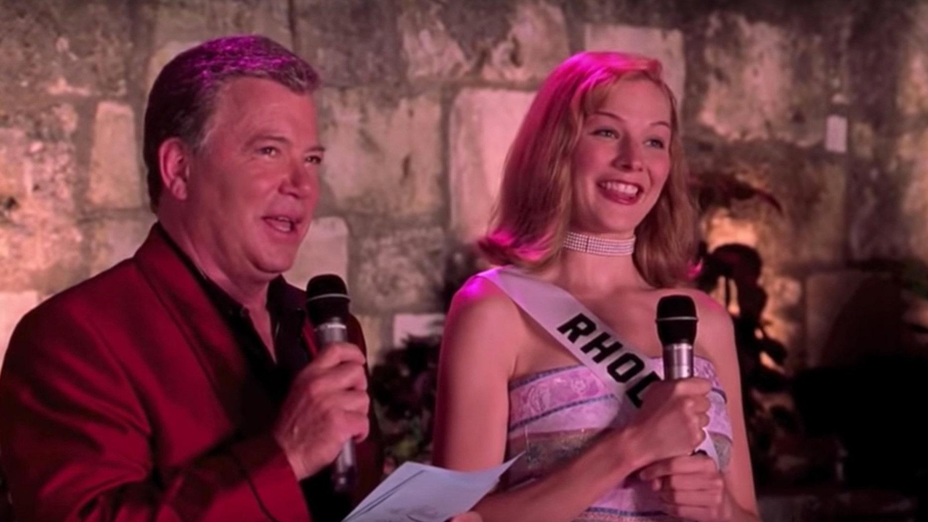 "William Shatner andHeather Burns in ""Miss Congeniality"""
