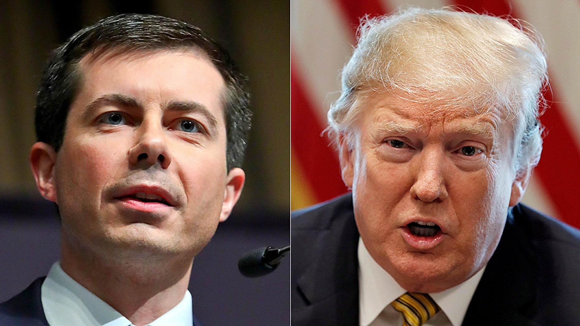 Democratic presidential contender and South Bend, Indiana Mayor Pete Buttigieg said he doubts President Trump is a Christian based on his actions.