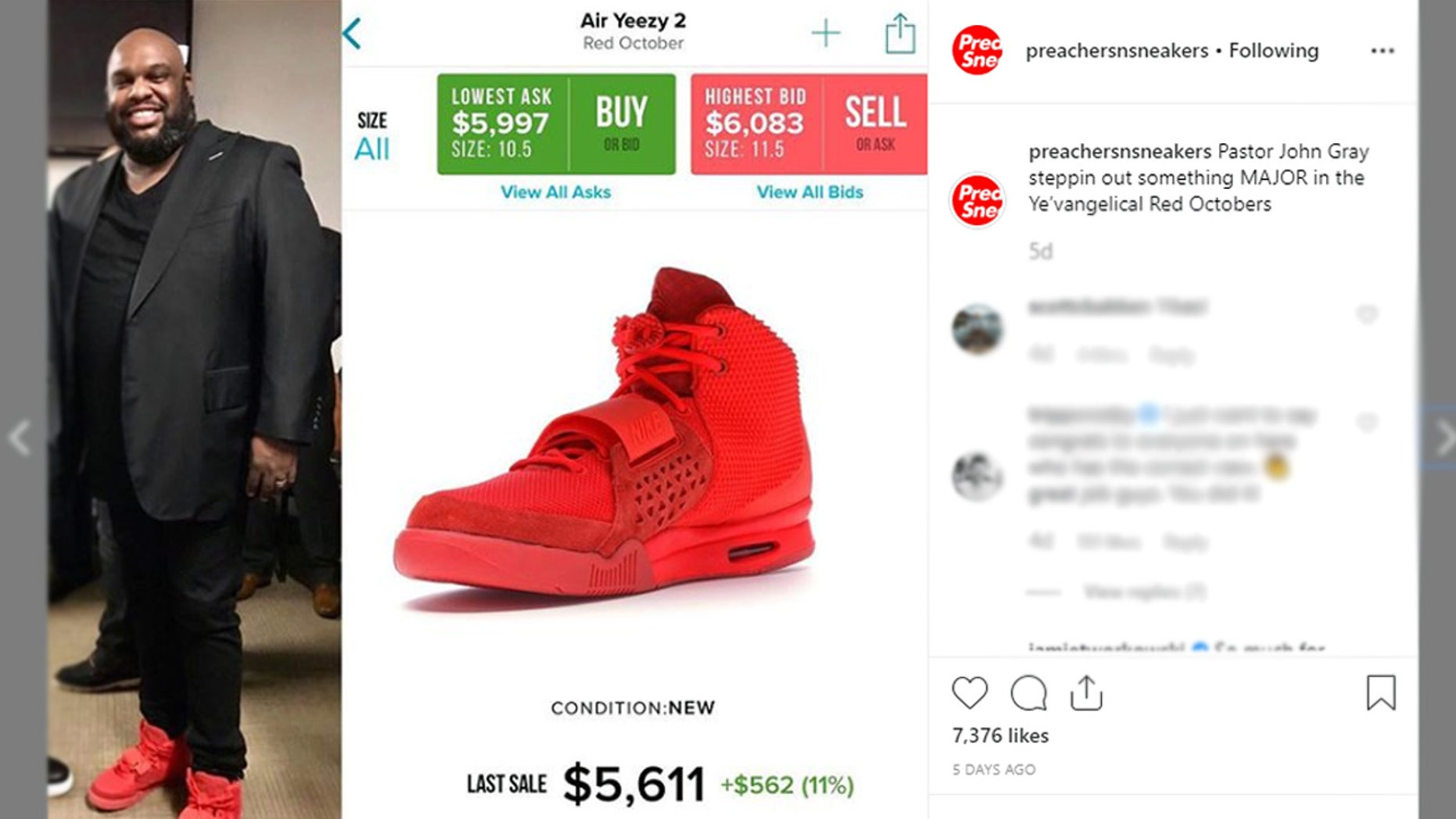 The Instagram account @PreachersNSneakers went viral for calling out high profile pastors for wearing costly kicks.