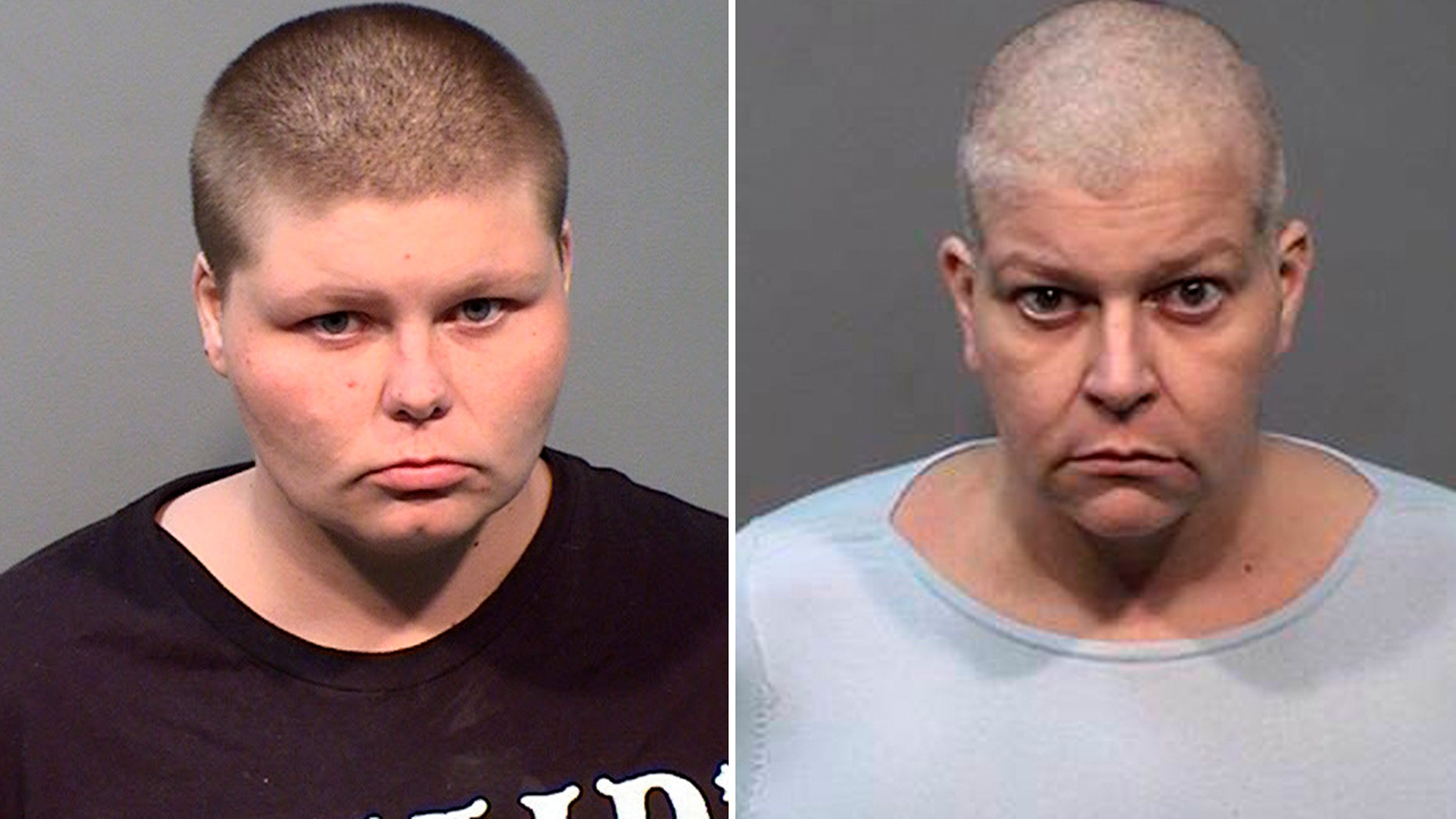 Tara Aven, 46, left and Briar Aven, 24, right, were arrested Tuesday for allegedly killing the family's grandmother's paying his monthly check, police said.