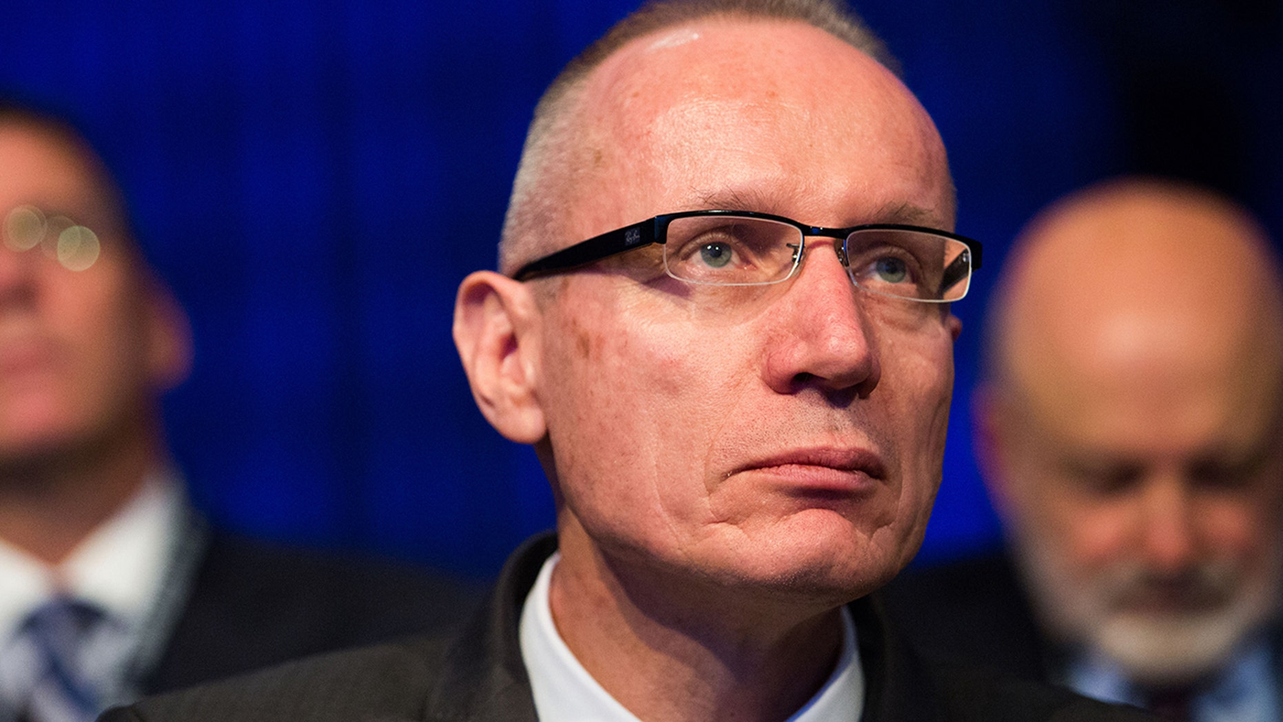 "FILE - Robert Thomson, CEO of News Corp, in a wide-ranging speech on Tuesday, called out liberal media for letting their personal views influence their objective reporting and slammed big tech companies as ""ill-equipped"" to deal with contemporary challenges. (Getty)"