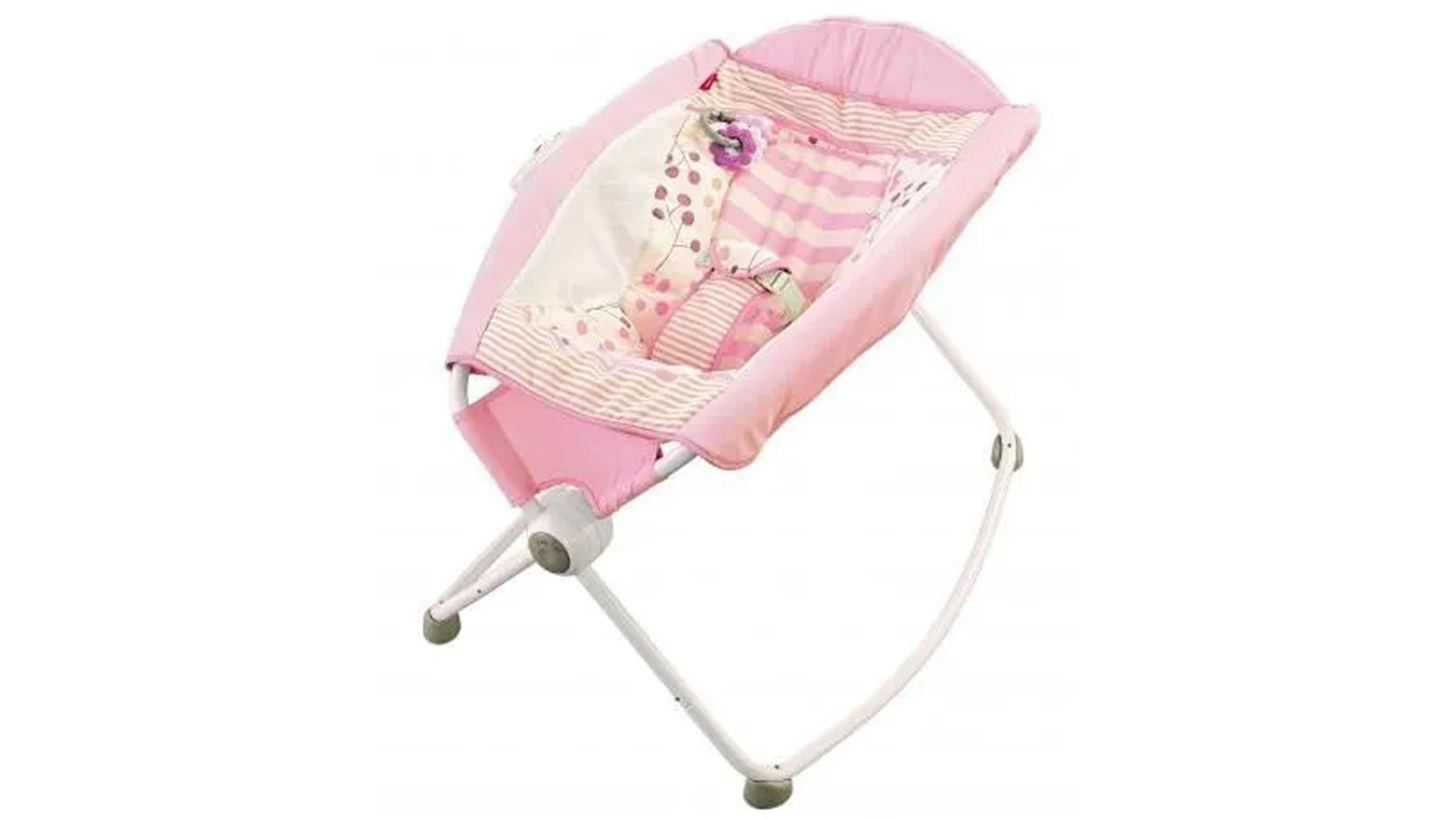 "The U.S. Consumer Product Safety Commission (CPSC) officially recalled 4.7 million Fisher-Price ""Rock 'n Play Sleepers"" Tuesday after reports of at least 30 infant deaths related to using the product. (CPSC)"