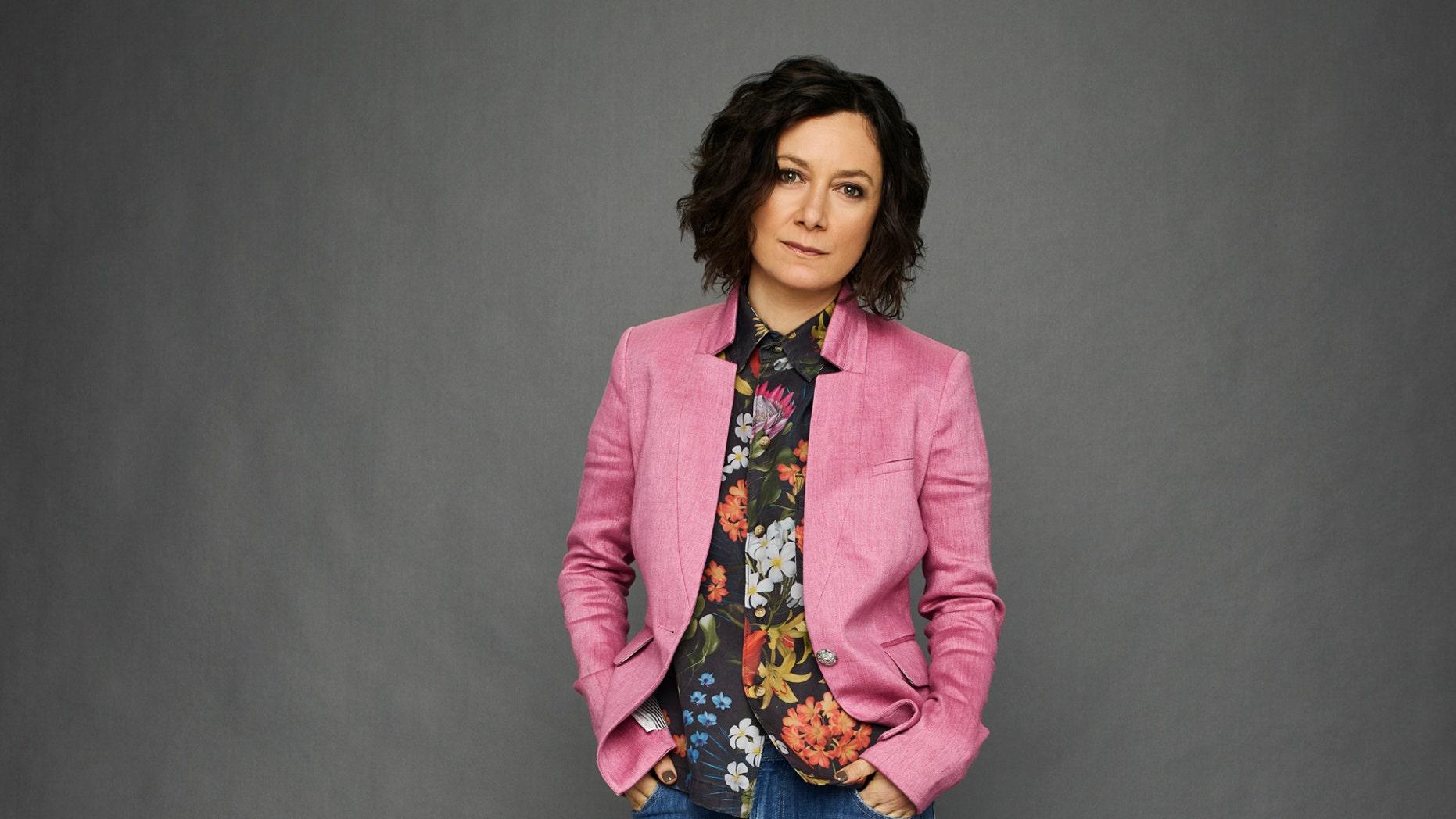 Sara Gilbert of THE TALK on CBS