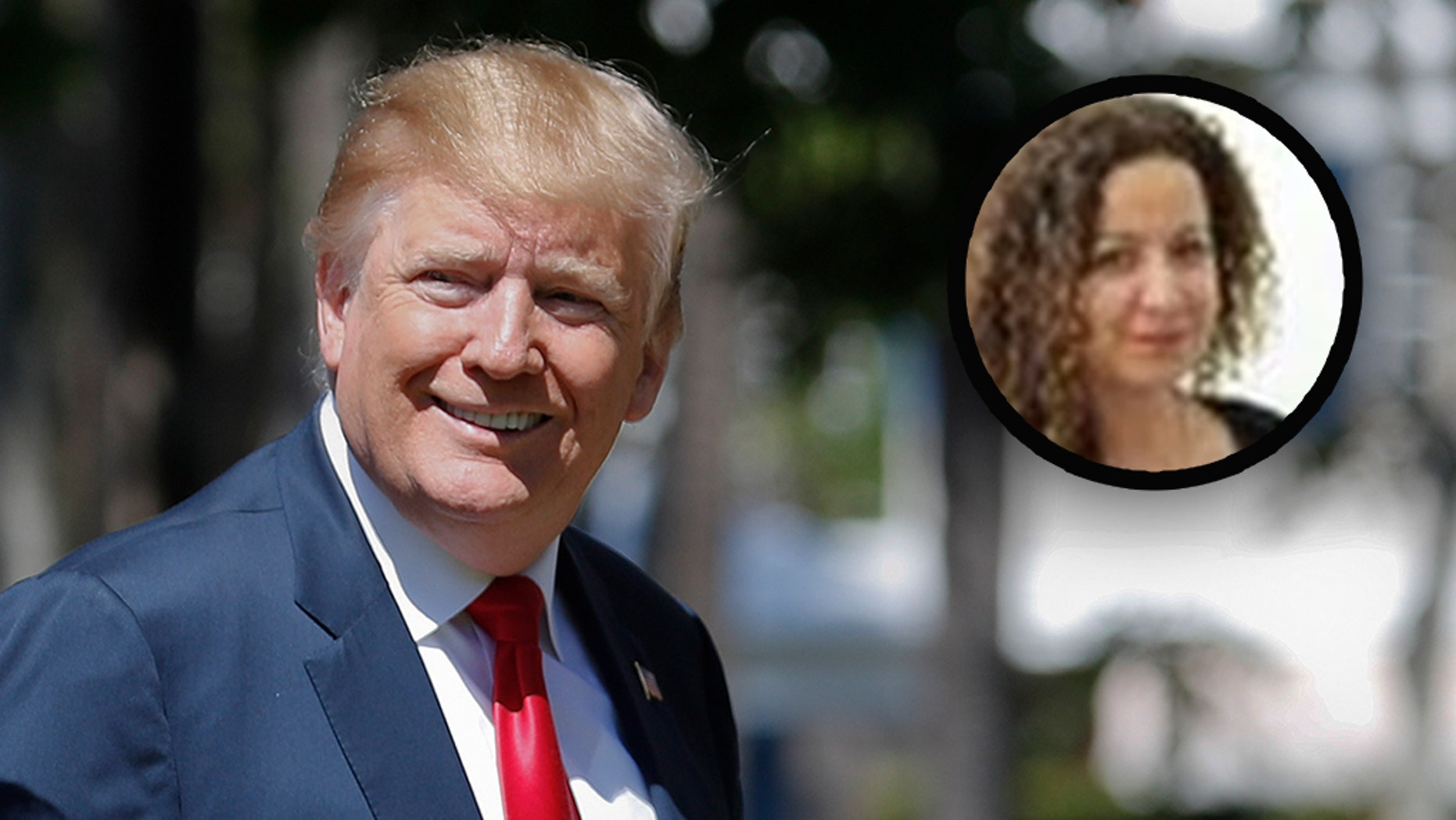 A BuzzFeed News editor, Miriam Elder, faced opposition on Sunday over her tweeting about President Trump and the attacks on Sri Lanka. (AP / BuzzFeed, File)