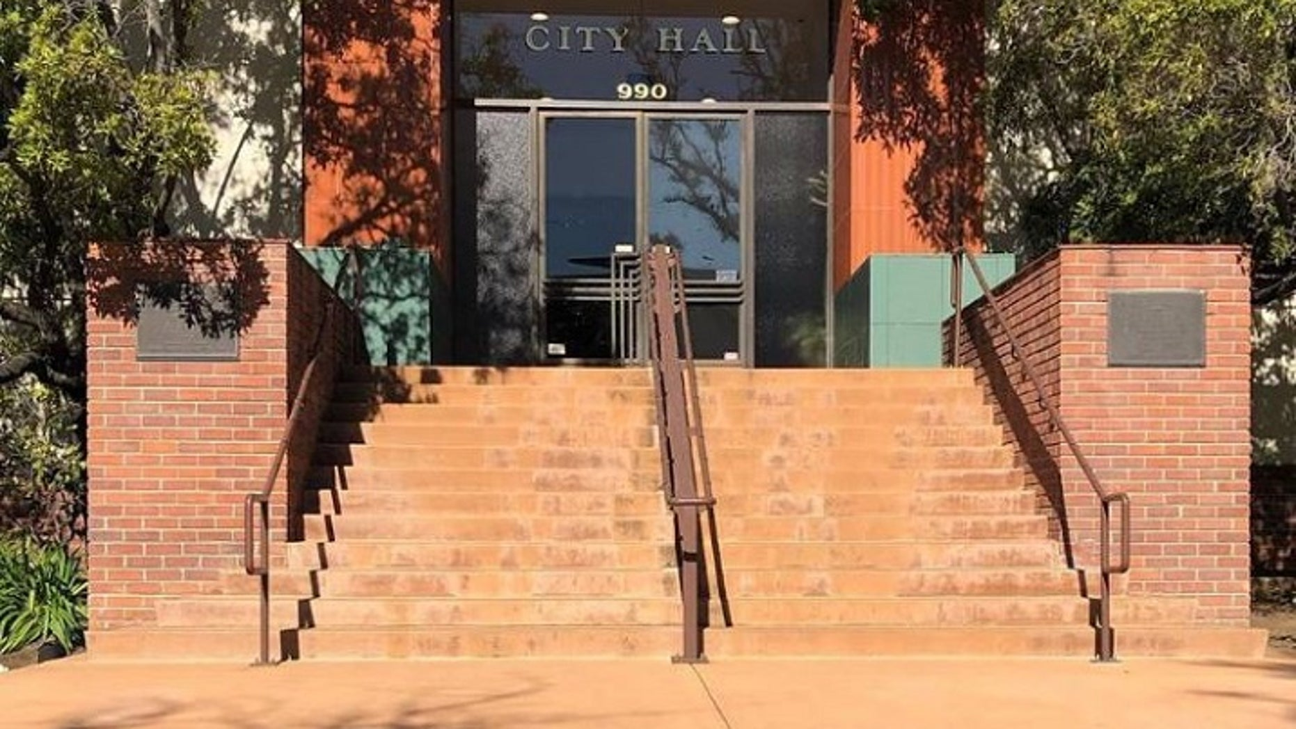 A San Luis Obispo city employee was placed on leave after a video showed him assaulting a woman at a bar resurfaced online. (City of San Luis Obispo)