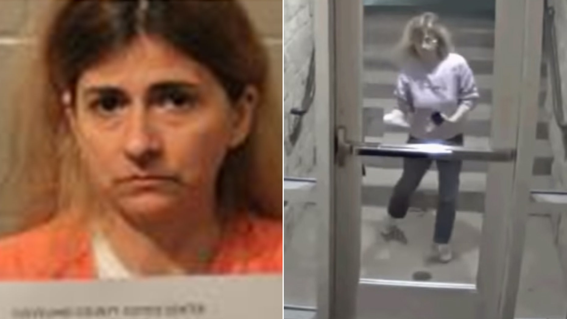 Allison Christine Johnson has been arrested after allegedly spray-painting swastikas, racist and anti-Semitic graffiti on buildings in Oklahoma.
