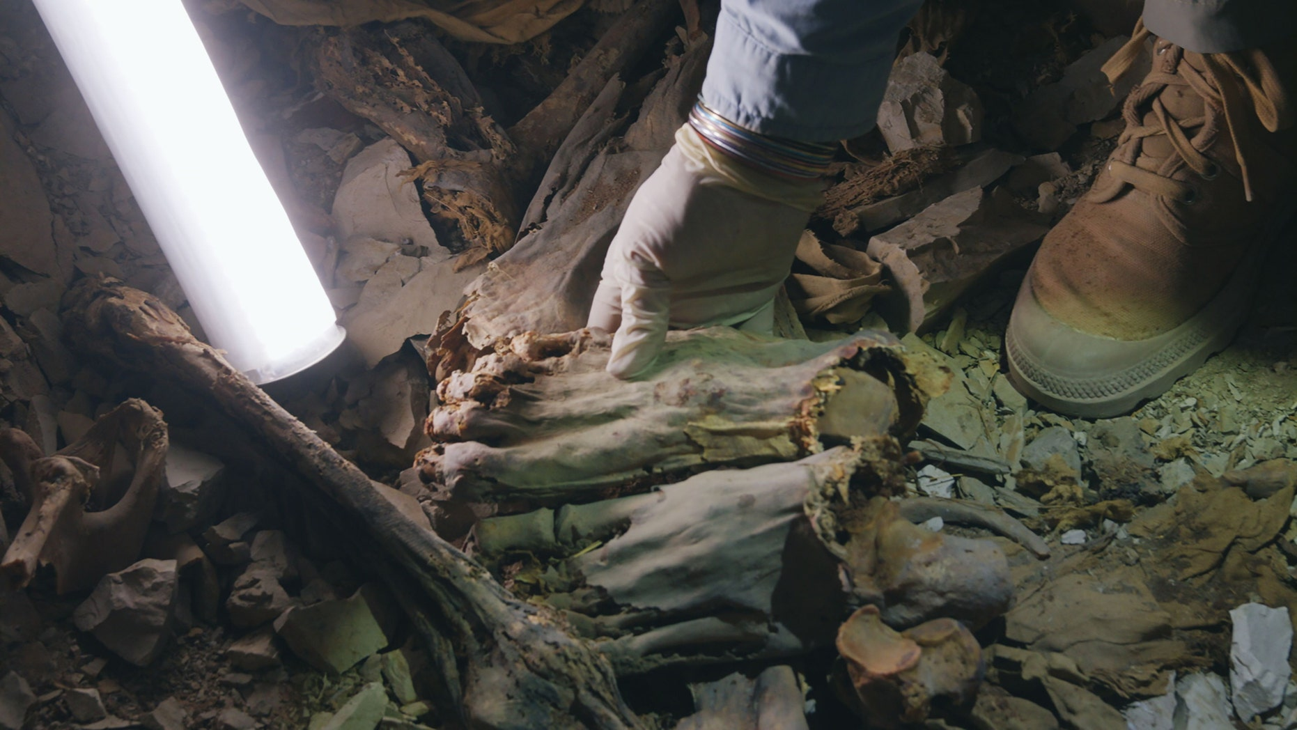 Westlake Legal Group ancient-egypt-mummies 60 Ancient Egyptian mummies entombed together died 'bloody, fearsome deaths' Mindy Weisberger, Senior Writer LiveScience fox-news/science/archaeology/ancient-egypt fnc/science fnc article 220553d3-e279-5ff5-b0c1-9bdc0e971673