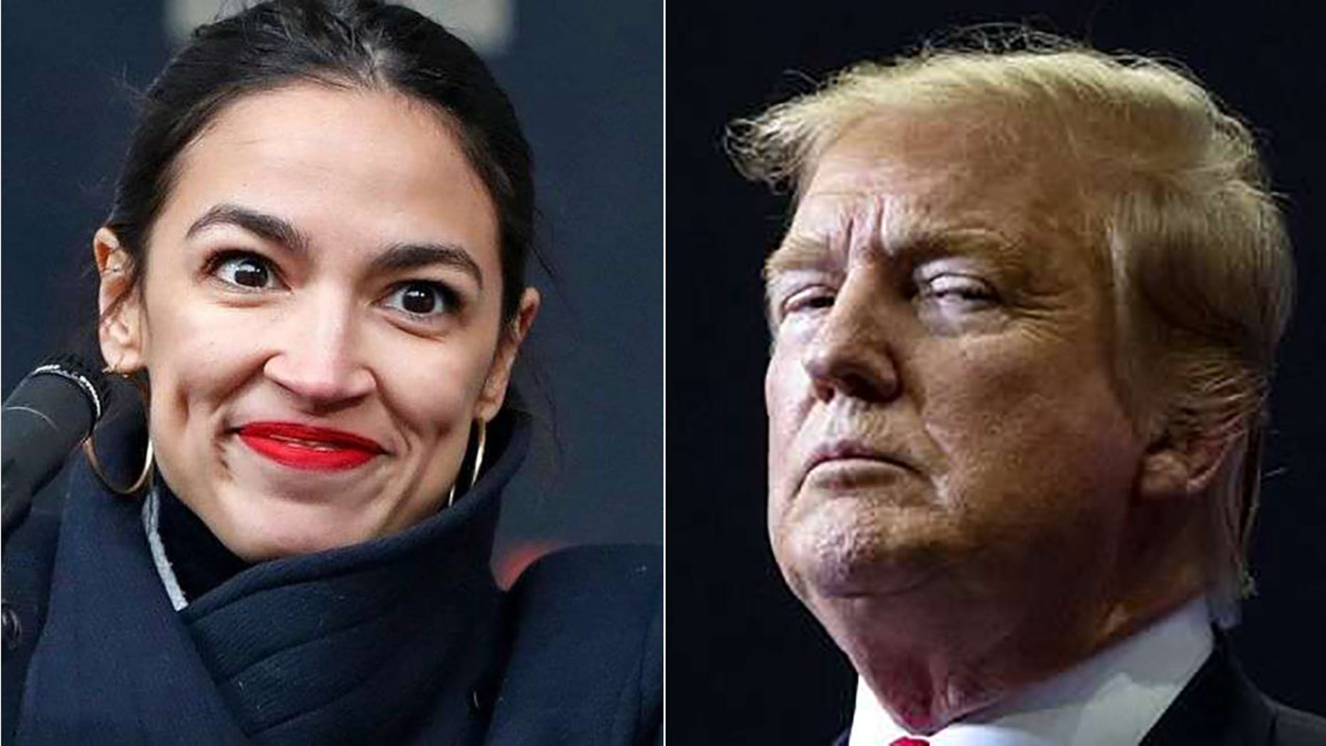 In a tweet Wednesday, U.S. Rep. Alexandria Ocasio-Cortez referred to a letter that Democratswrote to the IRS, requesting six years of President Trump's taxreturns.
