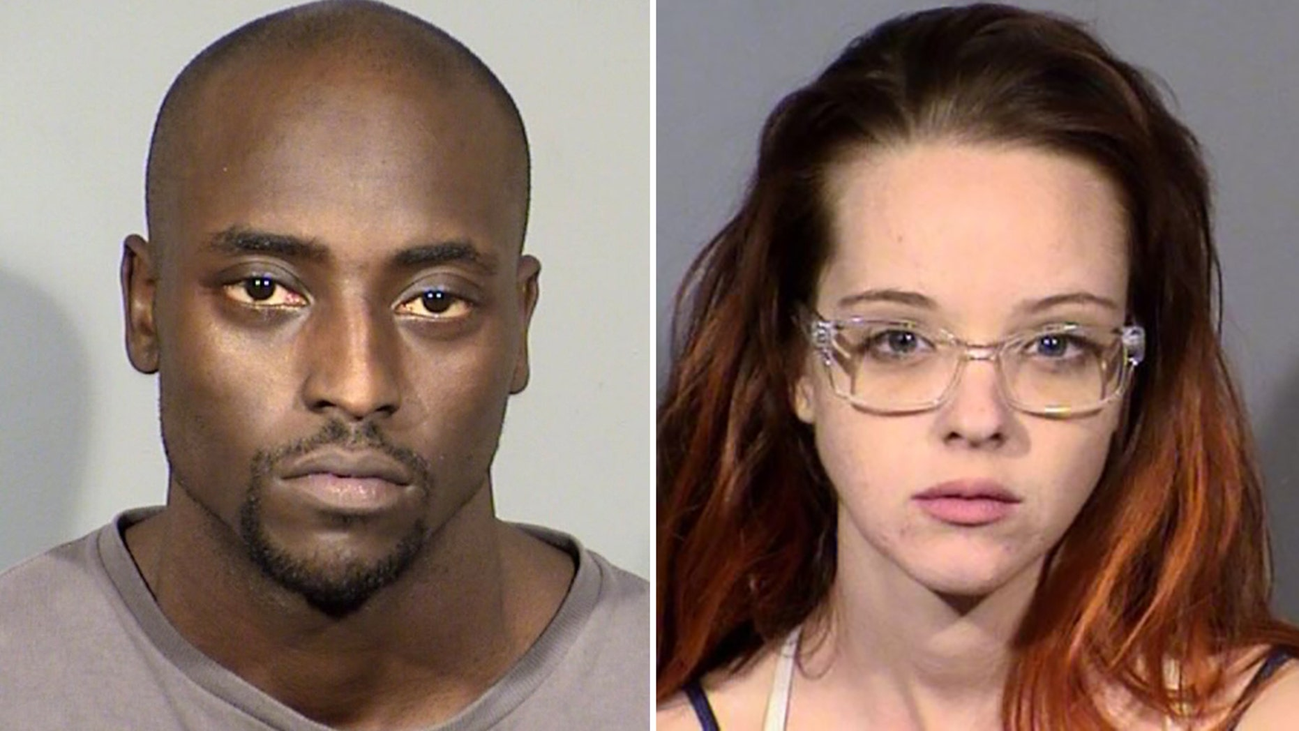 Ex-NFL player Cierre Wood, 28, and his 25-year-old girlfriend, Amy Taylor, were arrested Wednesday in the death of Taylor's 5-year-old daughter, Las Vegas.