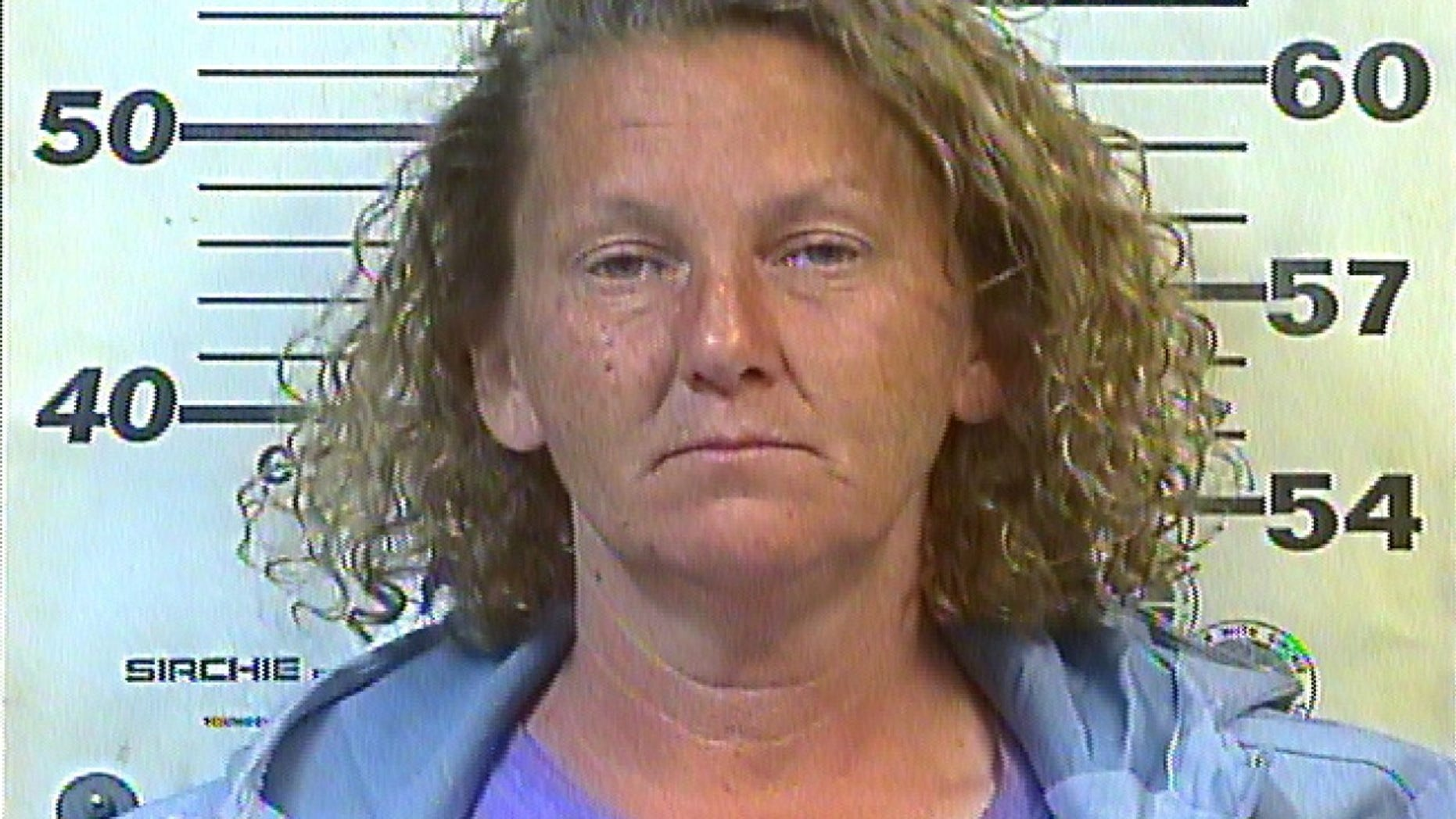 Sally Selby, 45, was arrested on theft charges.