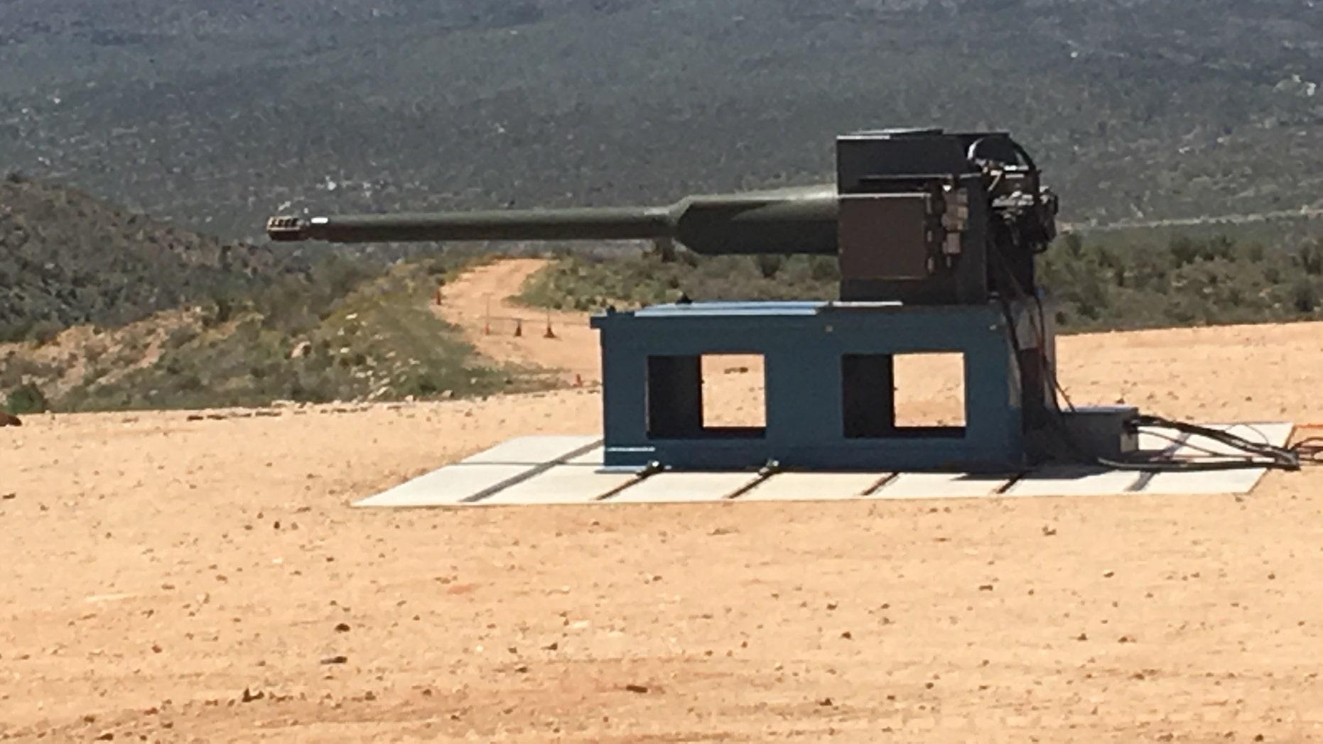 The new 50mm cannon (Kris Osborn)