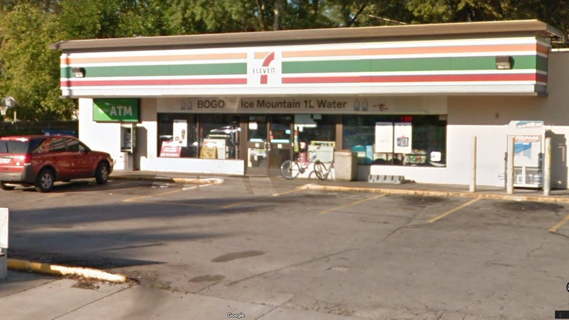 The owner of a 7-Eleven store in Toledo, Ohio says he gave a hungry teen food instead of calling the police after he caught him trying to steal food.