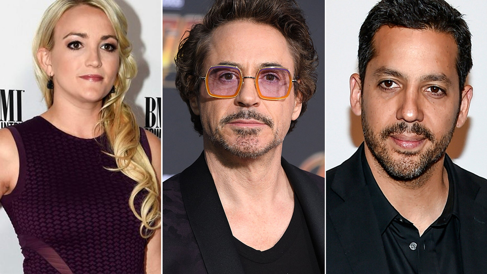 From l-r: Jamie Lynn Spears, Robert Downey Jr. and David Blaine all celebrate their birthday on April 4.