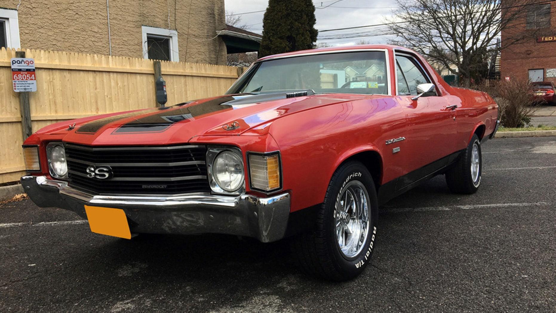 Jimmy Buffett's old 1972 Chevrolet El Camino SS is for ...