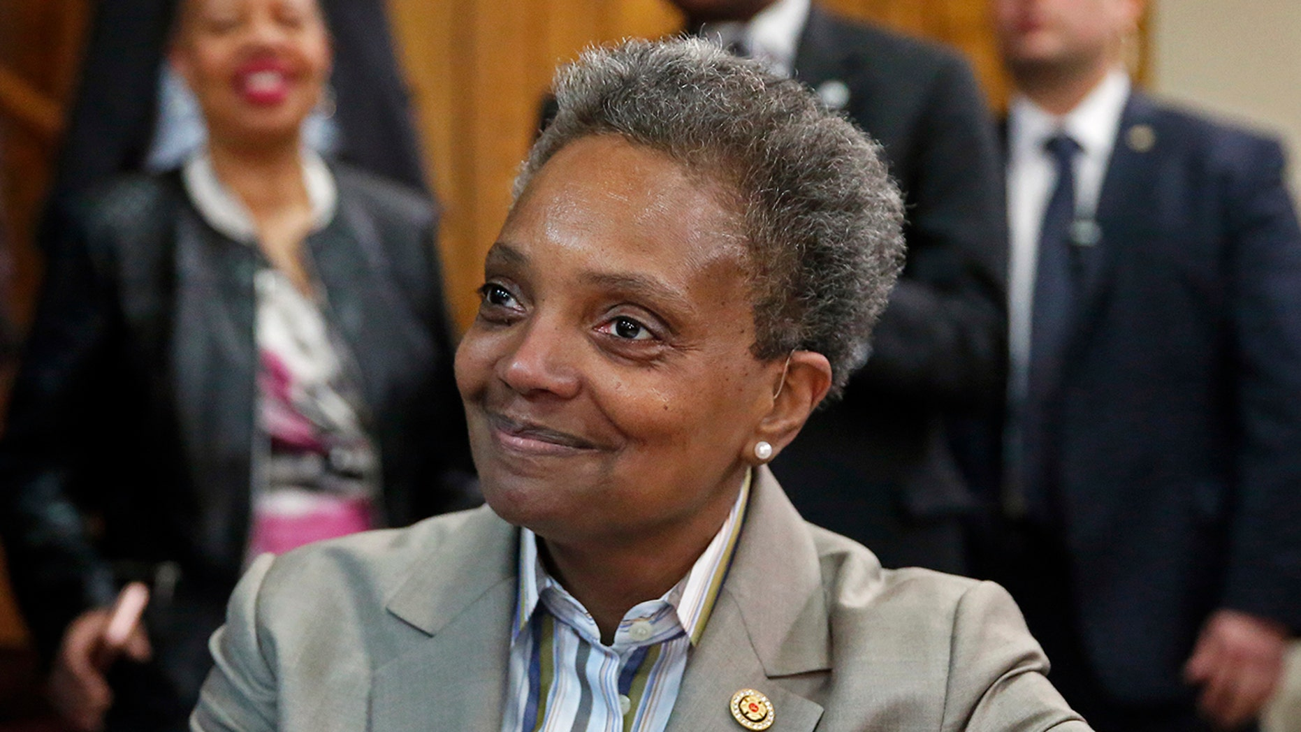 Chicago Mayor-elect Lightfoot says she'd welcome immigrants if Trump