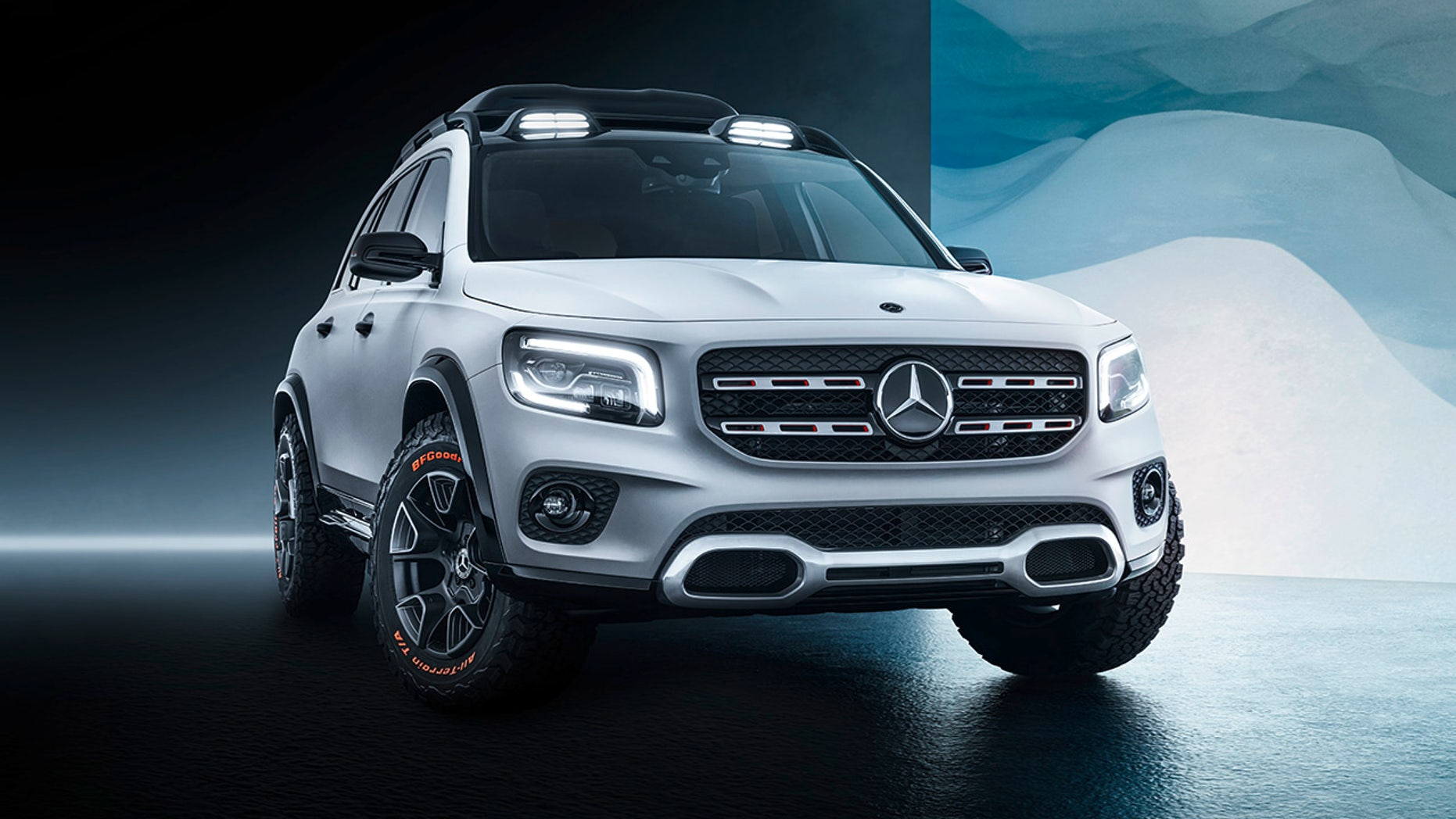 The Mercedes Benz Glb Suv Looks Ready To Get Down And