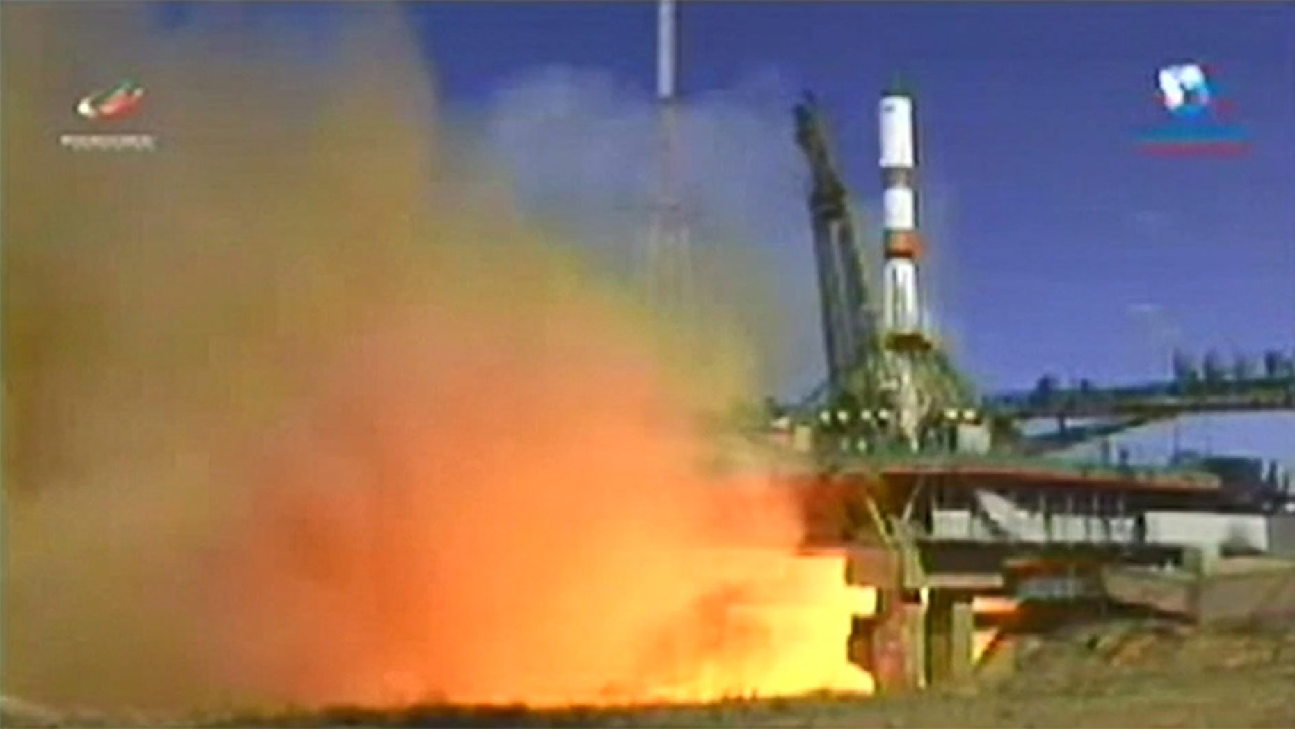 Russia's Progress 72 resupply ship blasts off on time from Kazakhstan to the International Space Station.