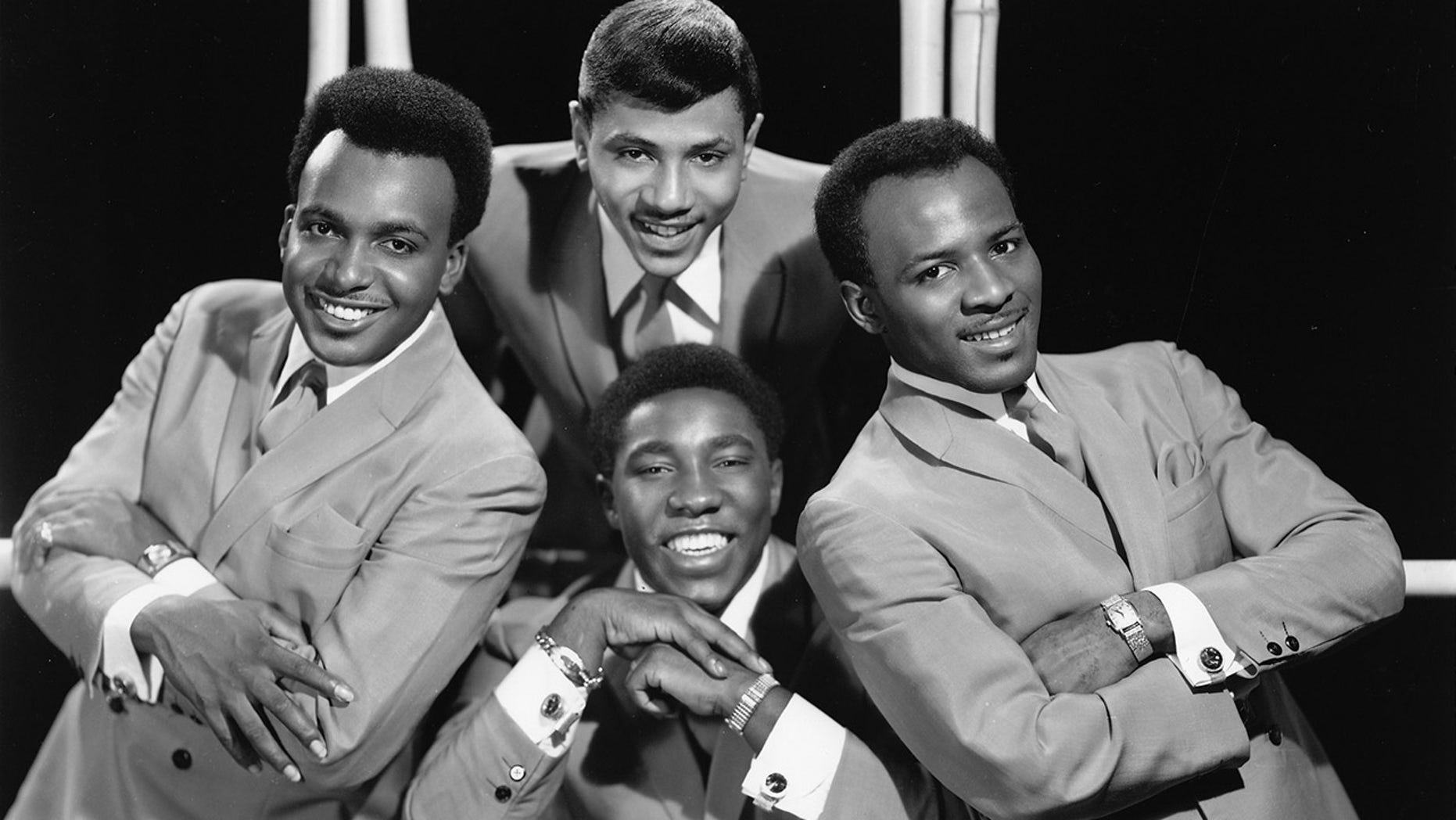 The O'Jays pose for a group portrait in 1967.