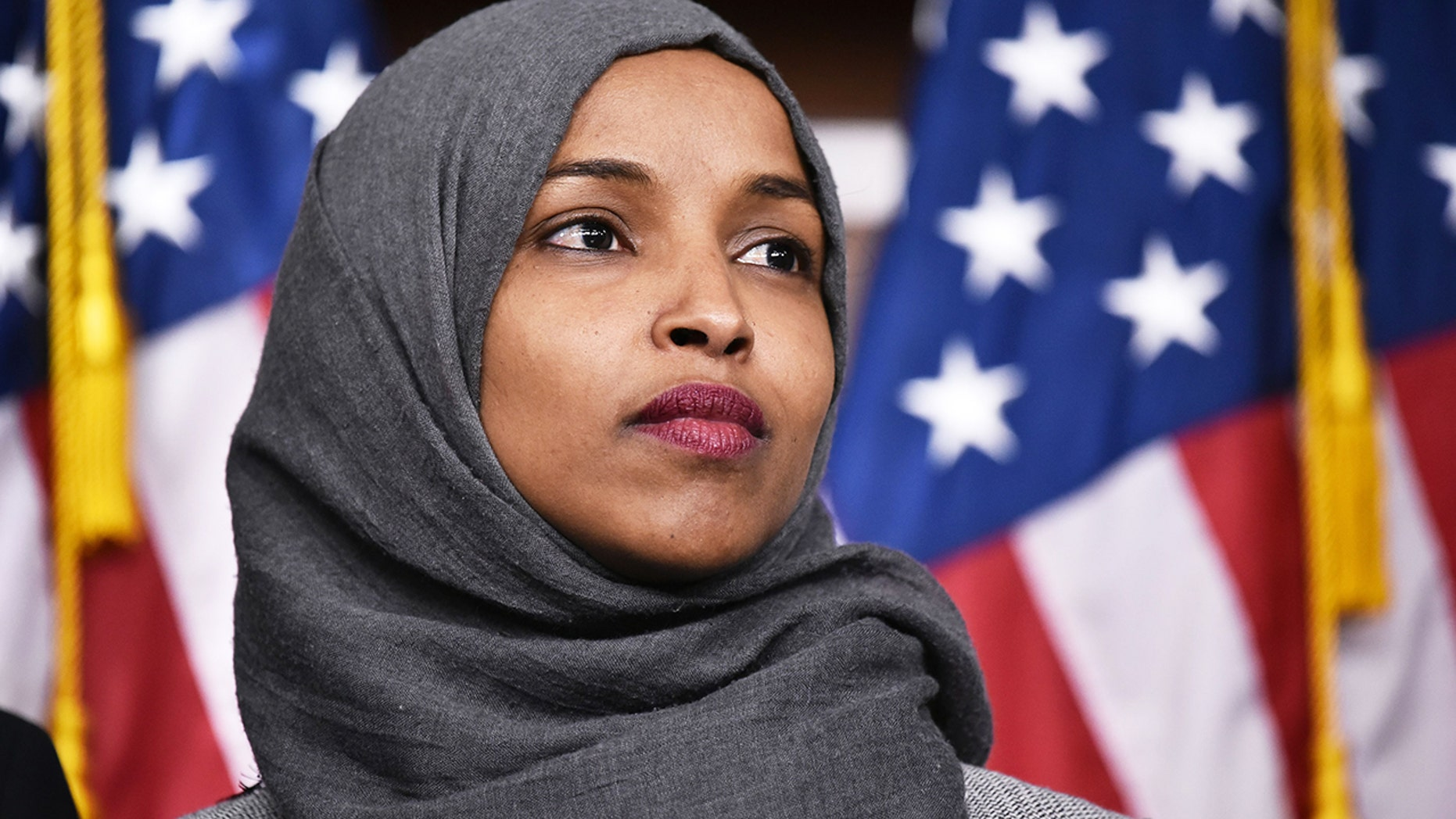 Rep. Ilhan Omar (D-Minn.) had asked Twitter to remove the president's April 12 tweet, saying it had sparked death threats against her.