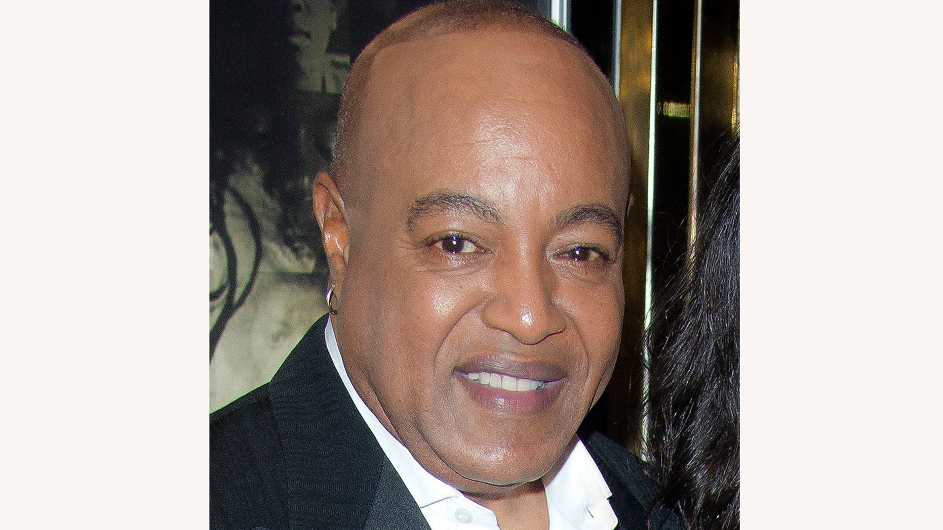 """This Nov. 2, 2011 file photo shows Peabo Bryson at the European premiere of """"Michael Jackson: The Life Of An Icon,"""" in London. A rep for Bryson says the R&B singer, known for hits such as """"Beauty & the Beast"""" and """"A Whole New World,"""" is hospitalized after suffering a """"mild heart attack."""" A statement released Monday, April 29, 2019, said the double Grammy-winner was stricken Saturday morning and is now in stable condition."""