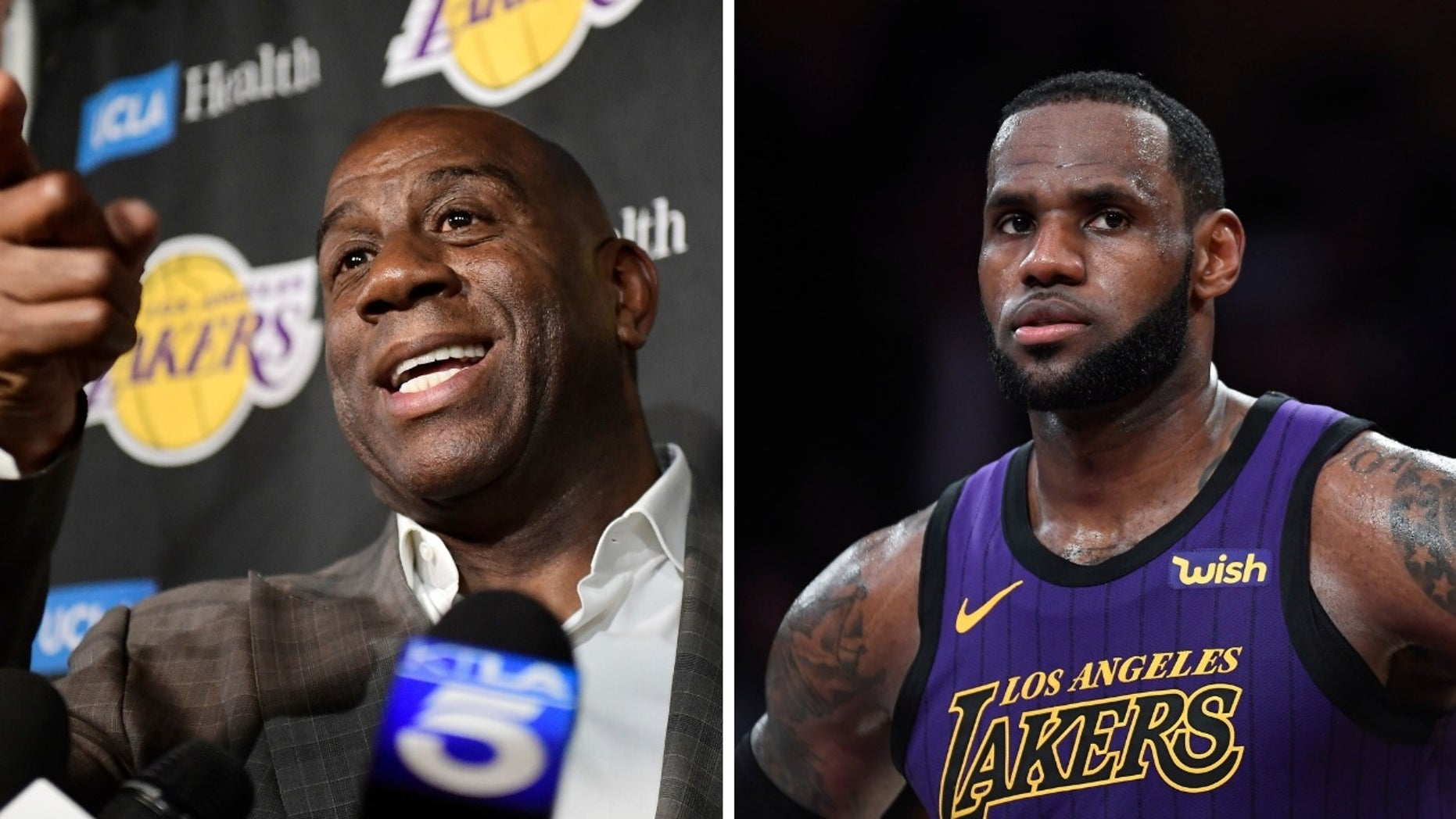 "NBA superstar LeBron James was allegedly ""stunned"" when he discovered Magic Johnson announced Tuesday that he was resigning as Lakers president of basketball operations."