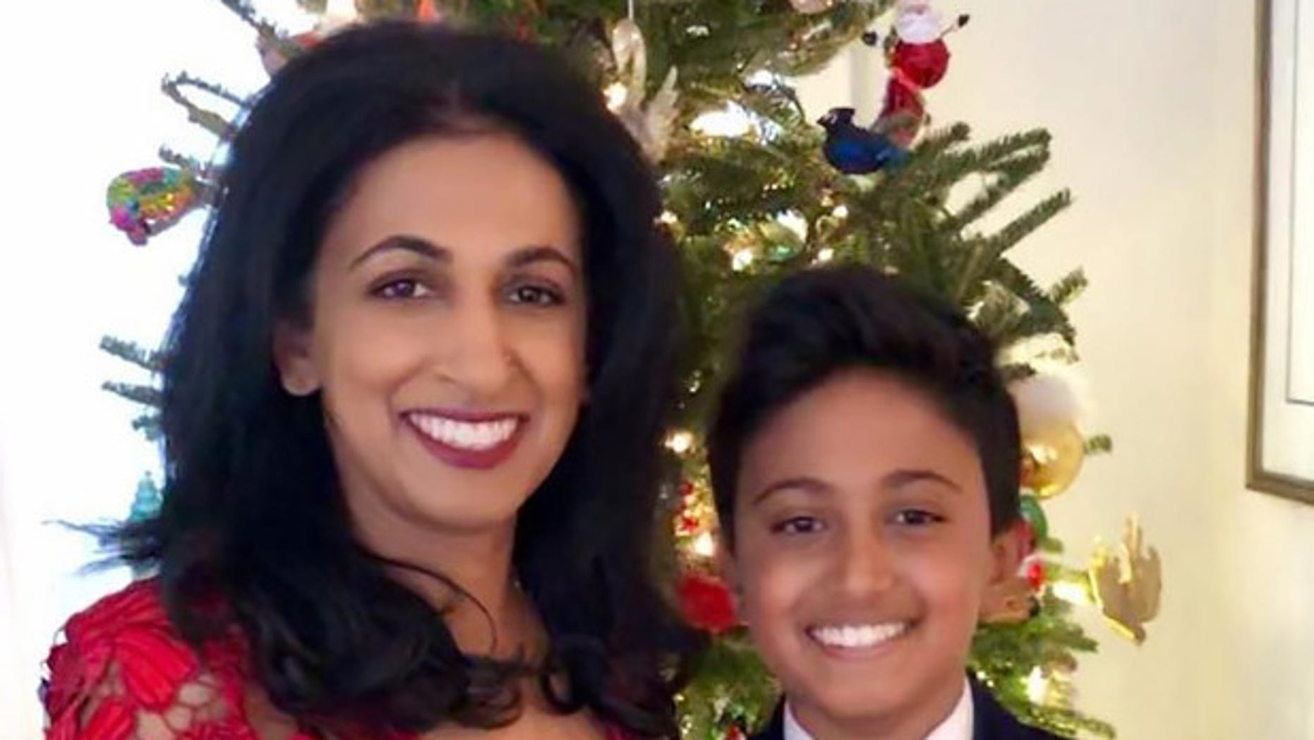 Kieran Shafritz de Zoysa, 11, was one of nearly 300 victims in the Easter Sunday bombings in Sri Lanka. His mother, left, reportedly survived the attacks.