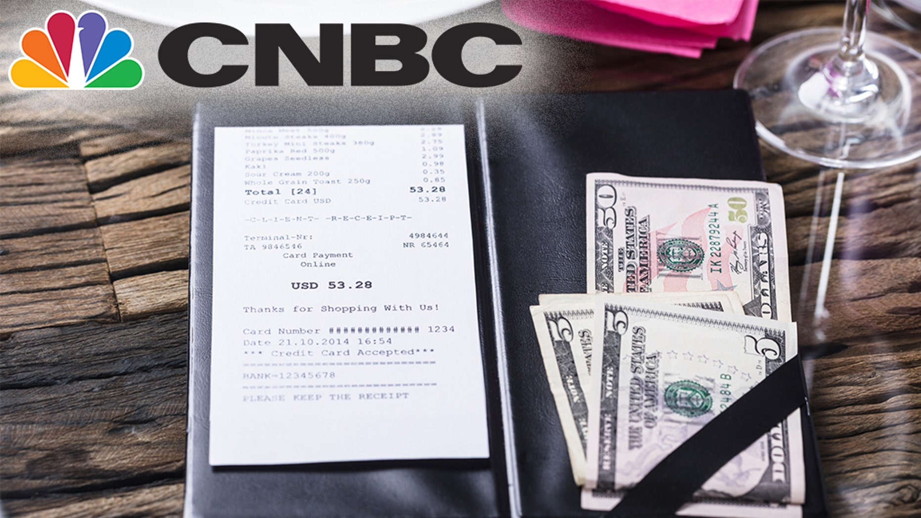A video on tipping tweeted by CNBC over the weekend sparked controversy.