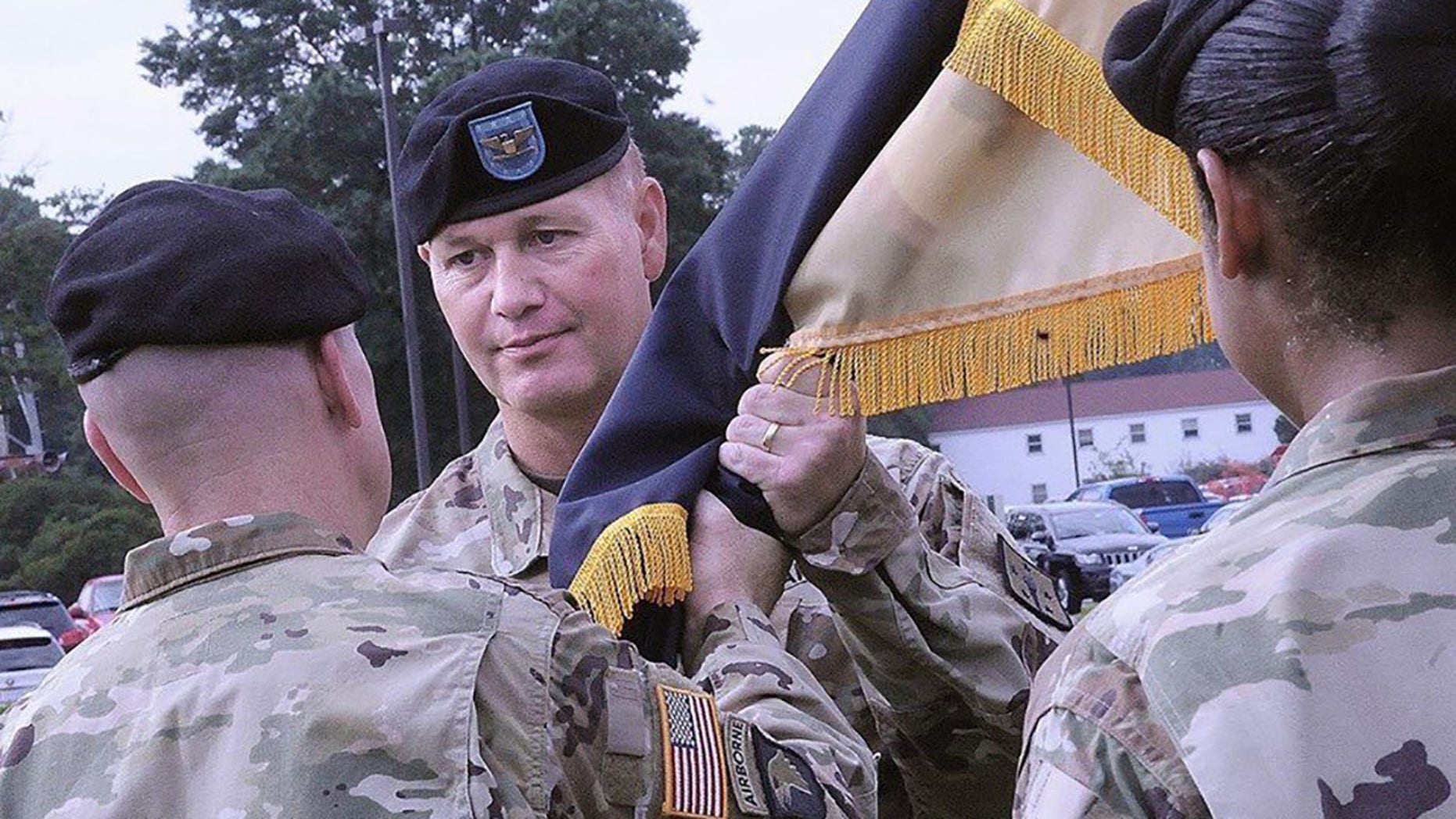 Col. Gregory S. Townsend joined the Army in 1996.
