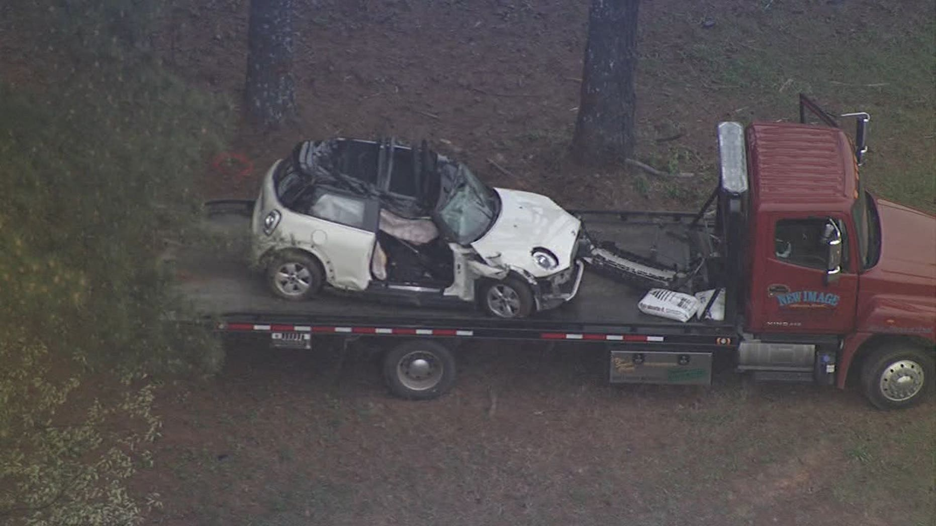 Cristina Pavon was going more than 106 mph when her car crashed into a tree, authorities said.
