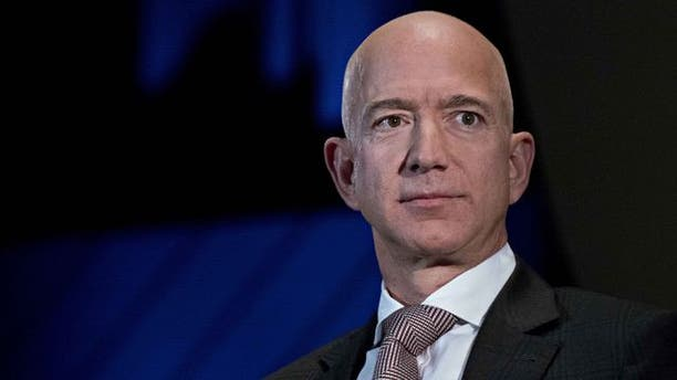 Amazon CEO Jeff Bezos has bulletproof panels in his Seattle office.