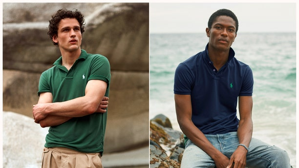 Polo Ralph Lauren on Thursday launched a version of its iconic polo shirt made entirely of recycled plastic bottles and dyed through a process that uses zero water.