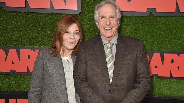 Stacey Weitzman and Henry Winkler attend the premiere of HBO's 'Barry' at NeueHouse Los Angeles on March 21, 2018 in Hollywood, California.