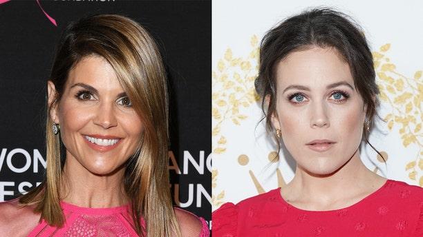 "Lori Loughlin (left) andLoughlin-Krakow (right) co-starred on Hallmark's ""When Calls the Heart"" together."
