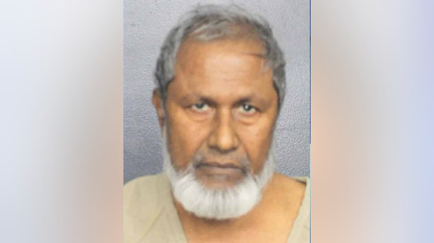 Mohammad Munshi, 67, was arrested after he allegedly tried to sexually assault a 17-year-old girl at knifepoint in Florida.