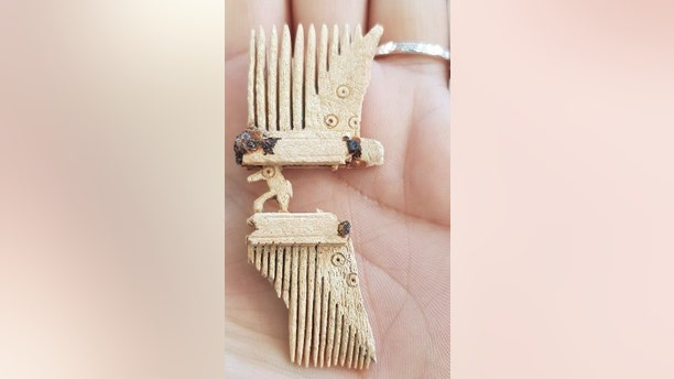 A bone comb from the late Roman or Anglo Saxon era was discovered at the site.(Thames Water)