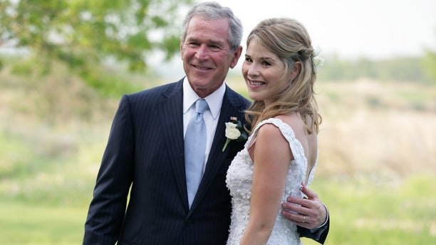 """""""Today"""" show host Jenna Bush Hager joked during Wednesday's show that her father, former President George W. Bush, """"can't speak English that well."""""""