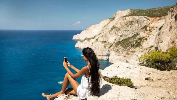 Tourists are being warned against taking pictures along Sydney's popular cliff edge (not pictured) in Diamond Bay.