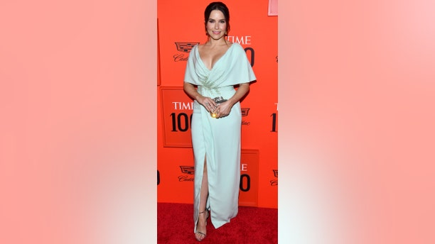 Sophia Bush attends the Time 100 Gala, celebrating the 100 most influential people in the world, at Frederick P. Rose Hall, Jazz at Lincoln Center on Tuesday, April 23, 2019, in New York.