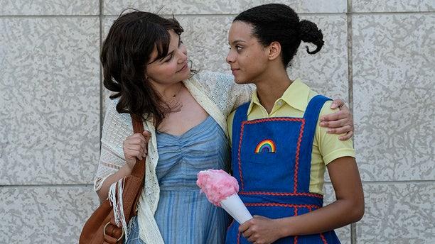 "Ginnifer Goodwin (left) and Angela Fairley star on Lifetime's ""I Am Somebody's Child."" — Lifetime"